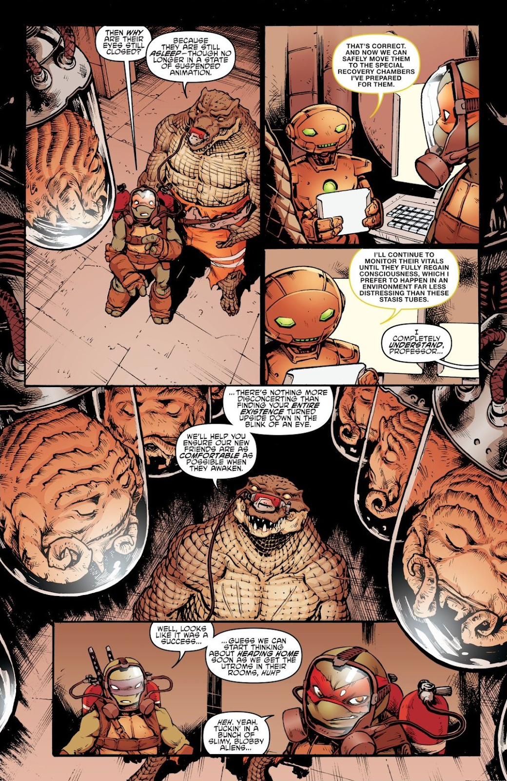 Read online Teenage Mutant Ninja Turtles: The IDW Collection comic -  Issue # TPB 7 (Part 2) - 39