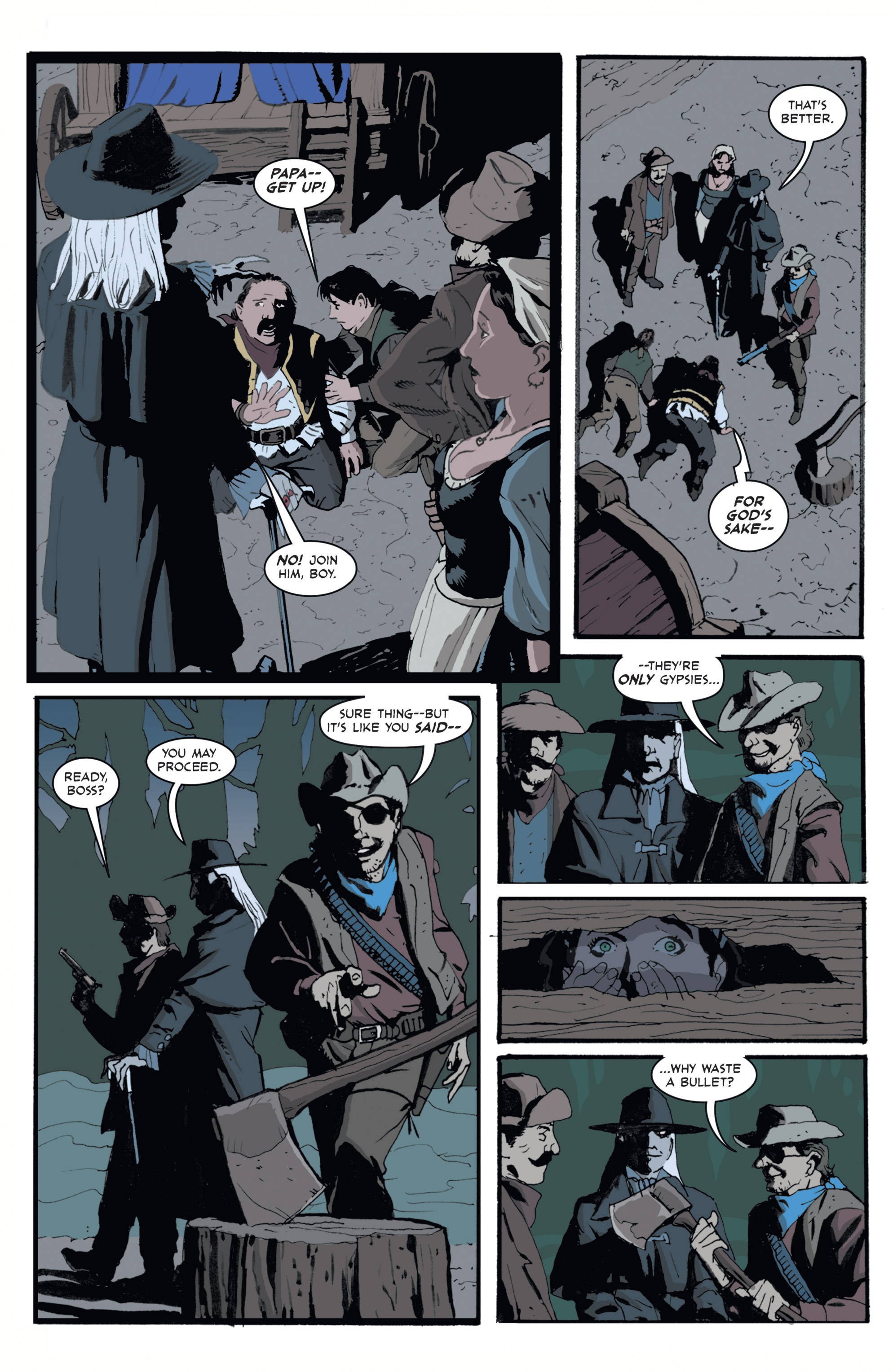 Read online 3 Devils comic -  Issue #1 - 10