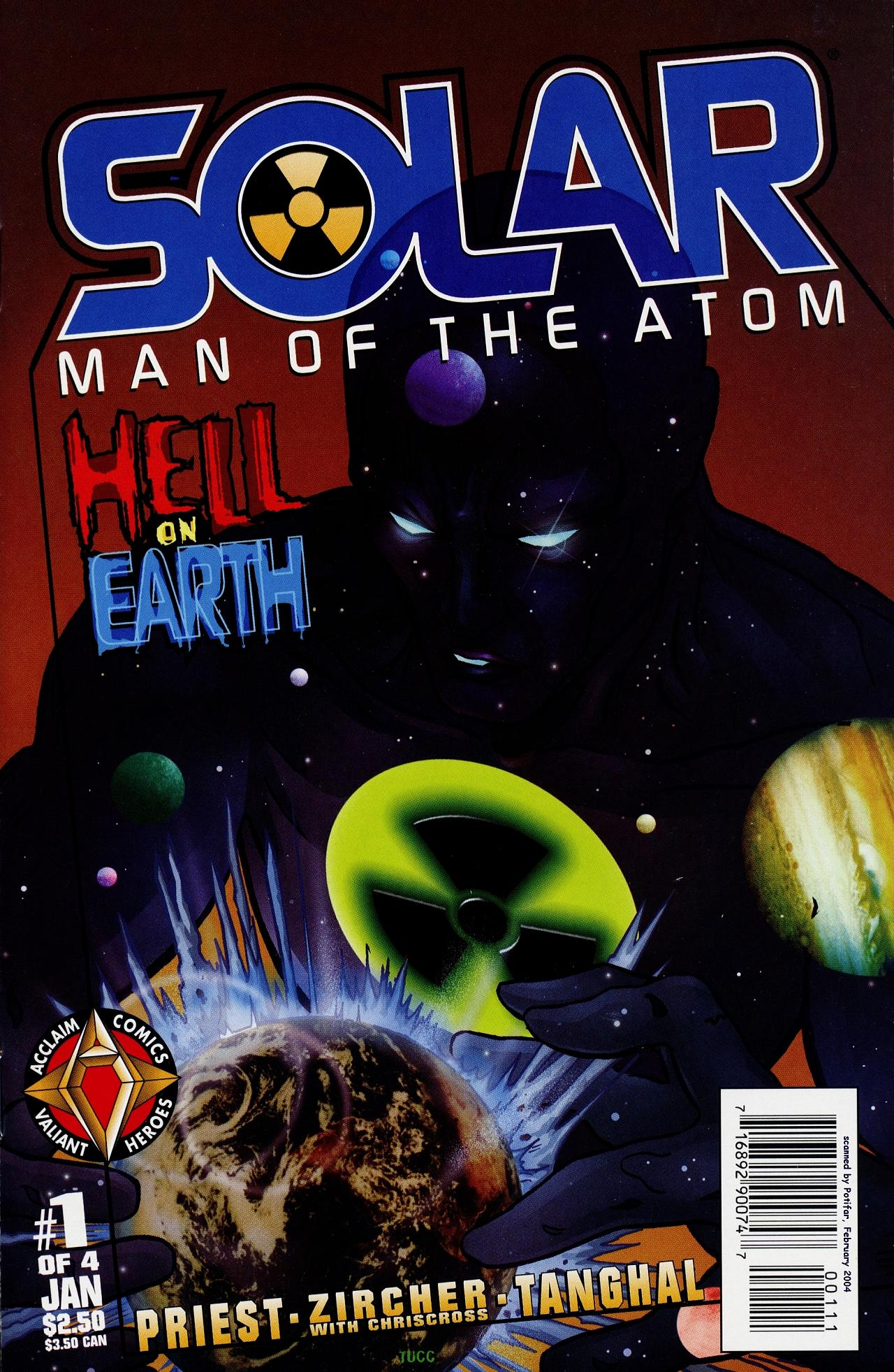 Read online Solar, Man of the Atom: Hell on Earth comic -  Issue #1 - 1