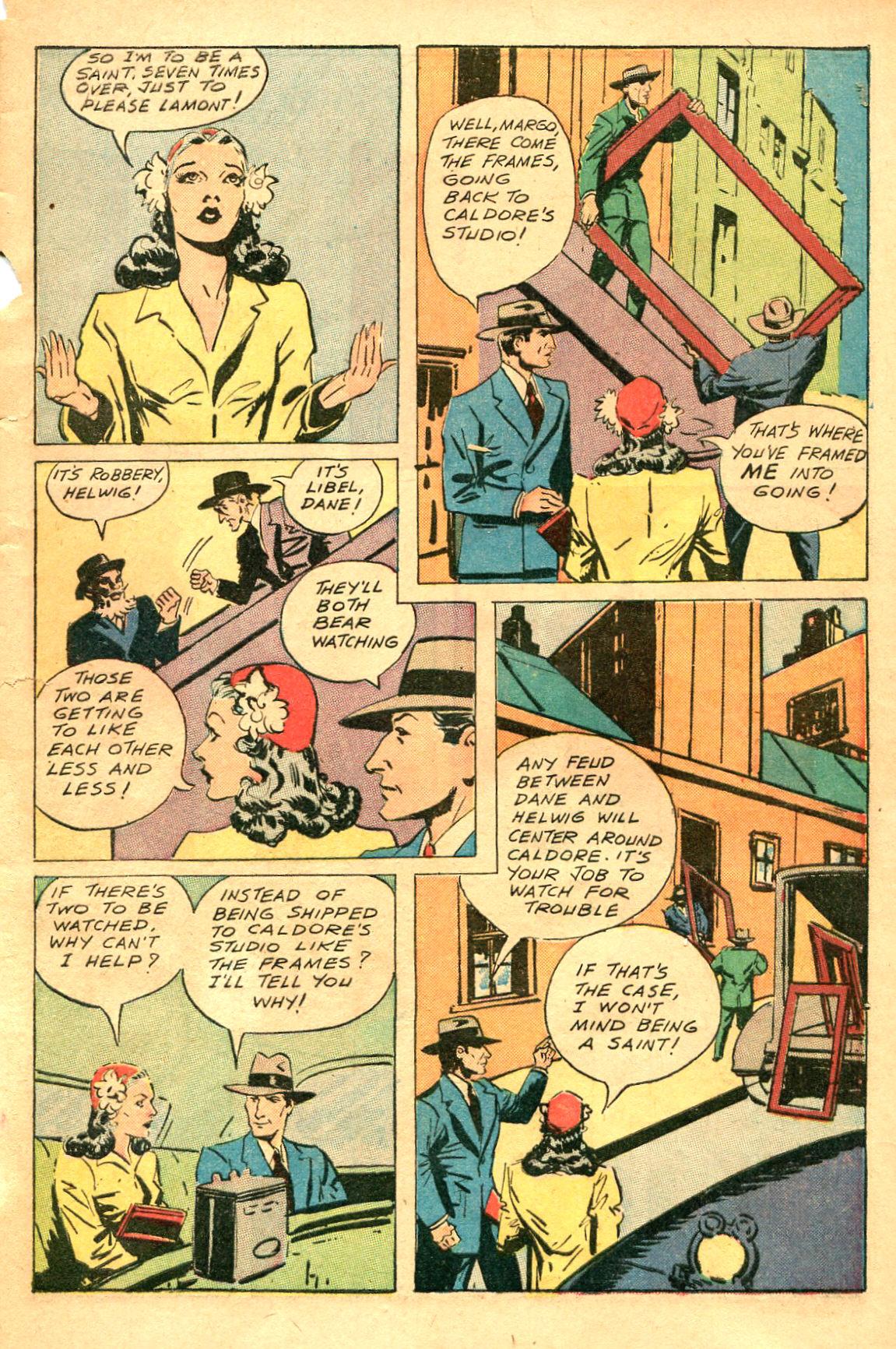 Read online Shadow Comics comic -  Issue #47 - 10