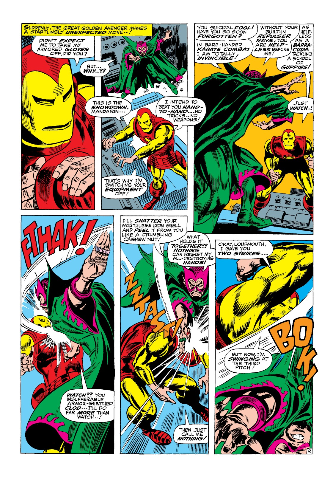 Read online Marvel Masterworks: The Invincible Iron Man comic -  Issue # TPB 4 (Part 1) - 41