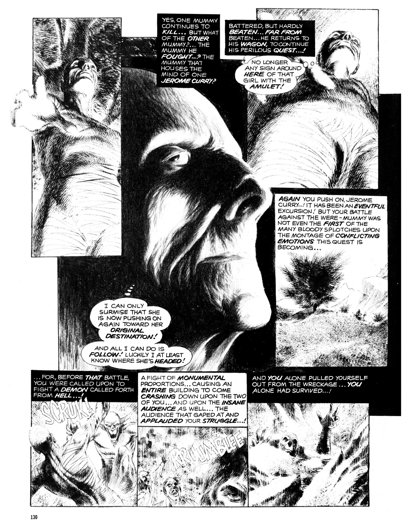 Read online Eerie Archives comic -  Issue # TPB 13 - 131