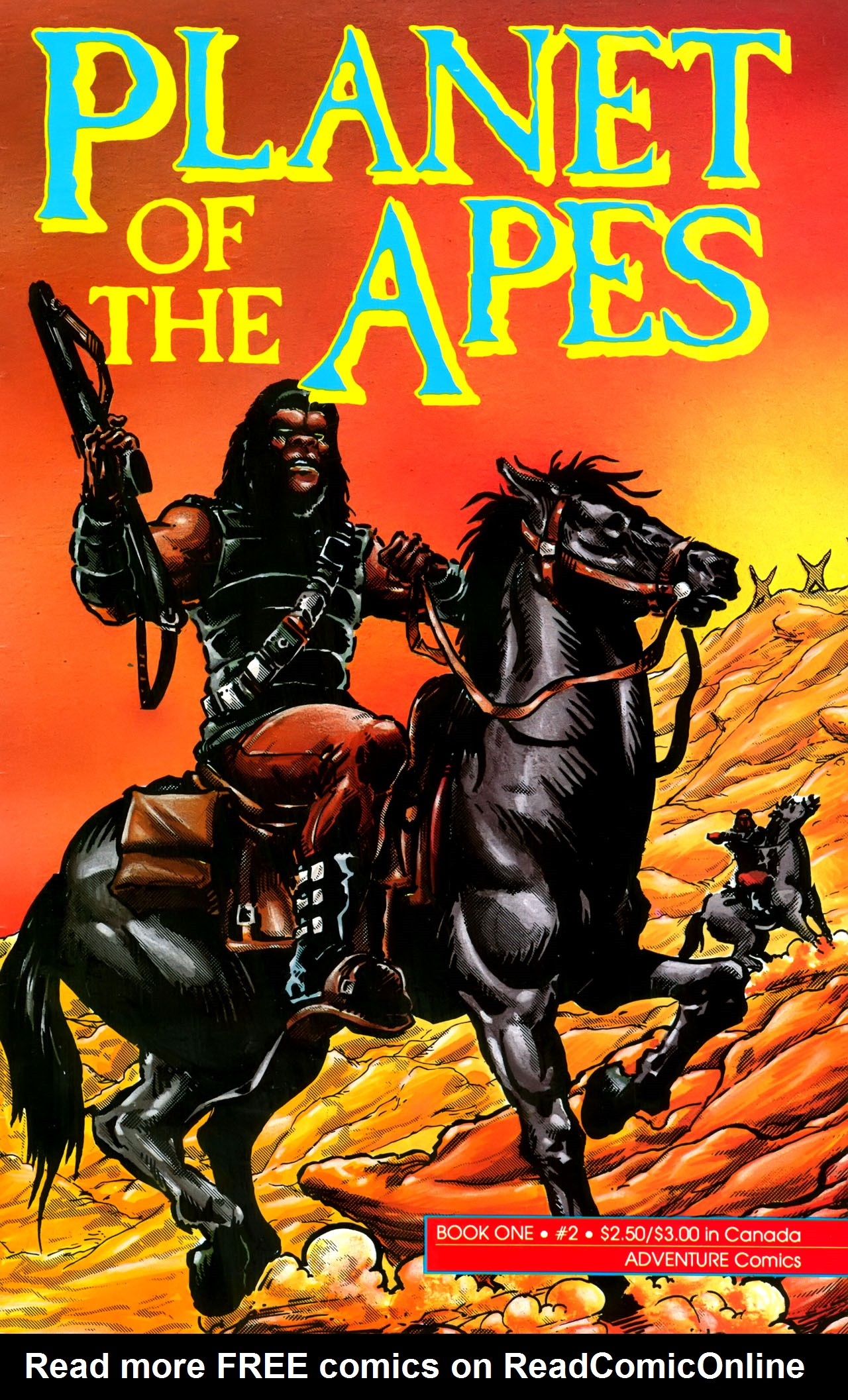 Planet of the Apes (1990) 2 Page 1