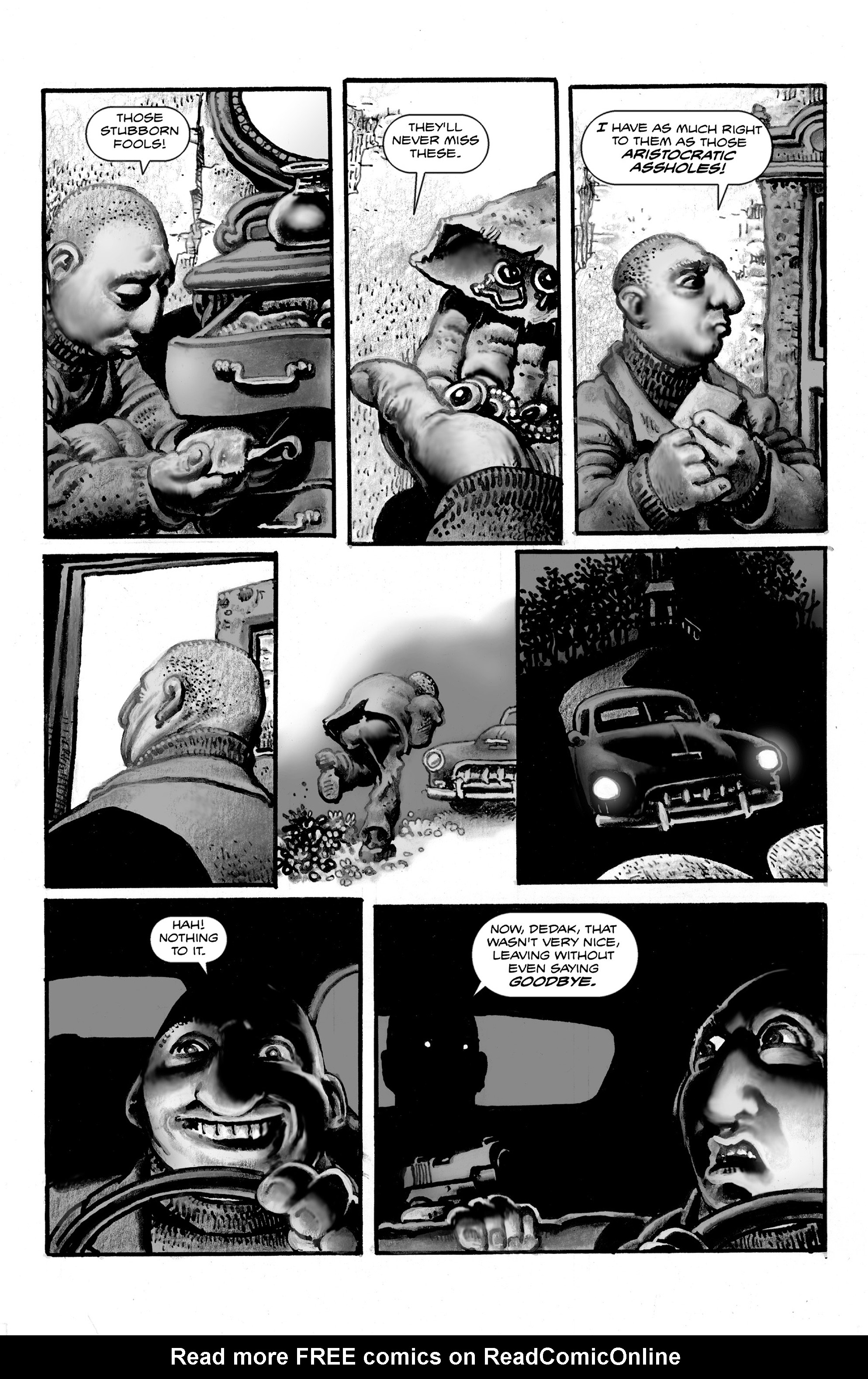 Read online Shadows on the Grave comic -  Issue #3 - 13