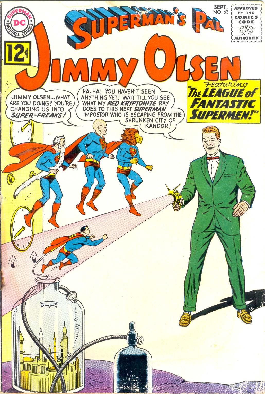 Supermans Pal Jimmy Olsen (1954) 63 Page 1