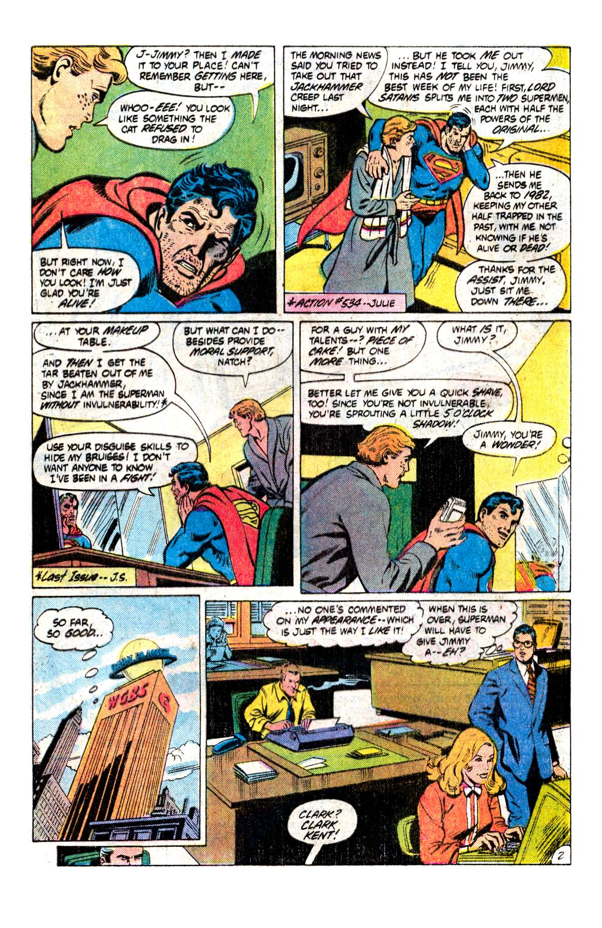 Read online Action Comics (1938) comic -  Issue #538 - 3