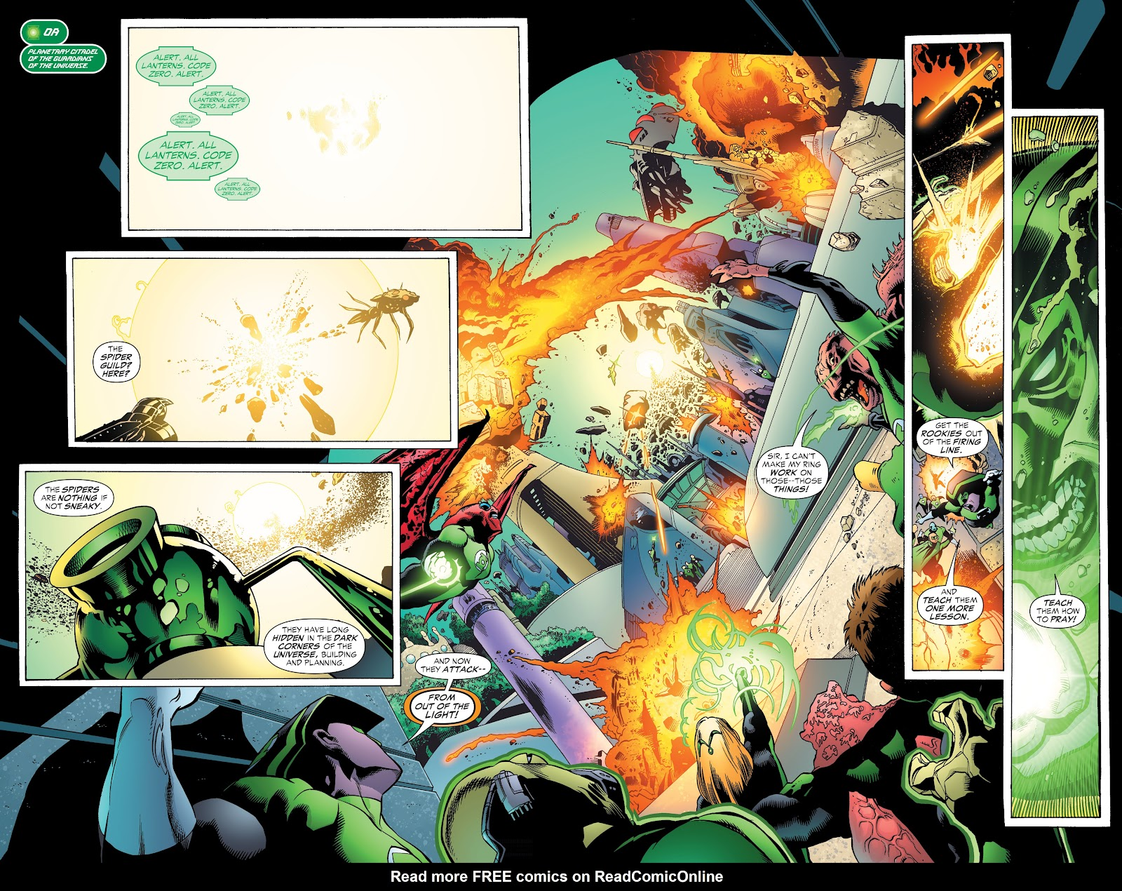 Read online Green Lantern by Geoff Johns comic -  Issue # TPB 1 (Part 3) - 71