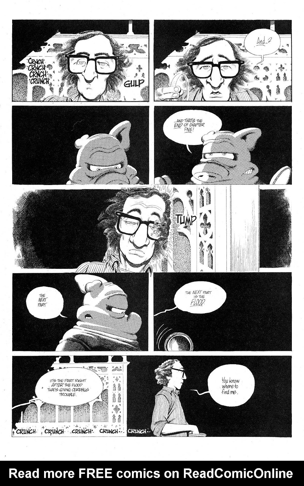 Cerebus Issue #281 #280 - English 18