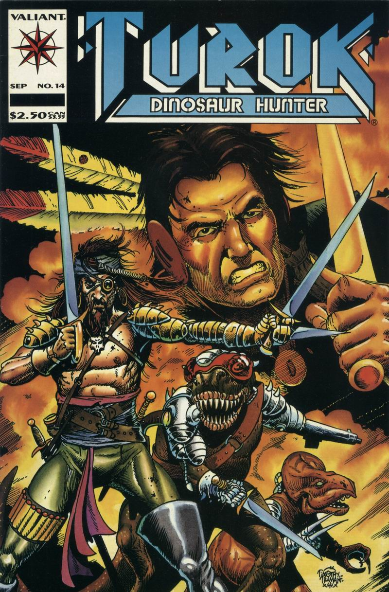 Read online Turok, Dinosaur Hunter (1993) comic -  Issue #14 - 1