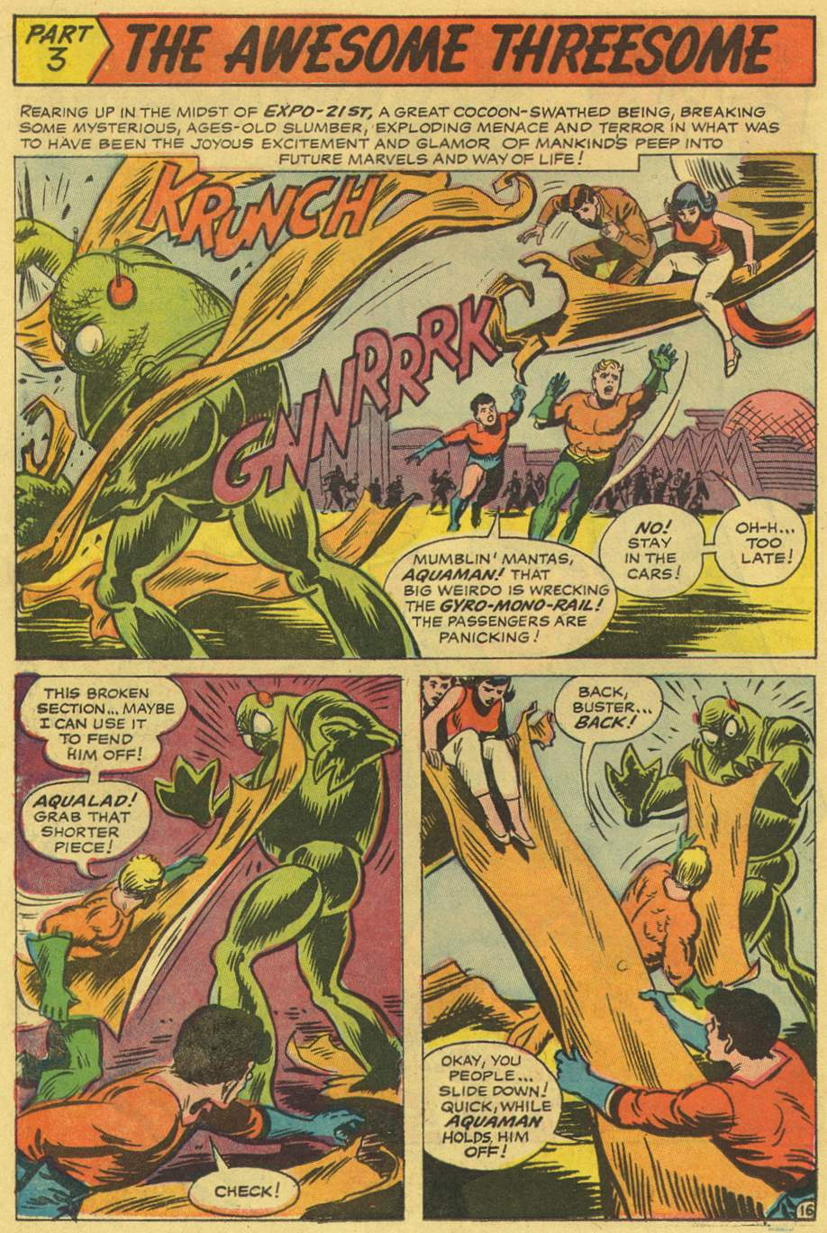 Read online Aquaman (1962) comic -  Issue #36 - 25