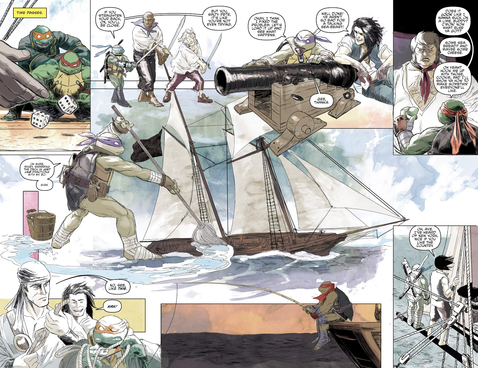 Read online Teenage Mutant Ninja Turtles: The IDW Collection comic -  Issue # TPB 5 (Part 1) - 61