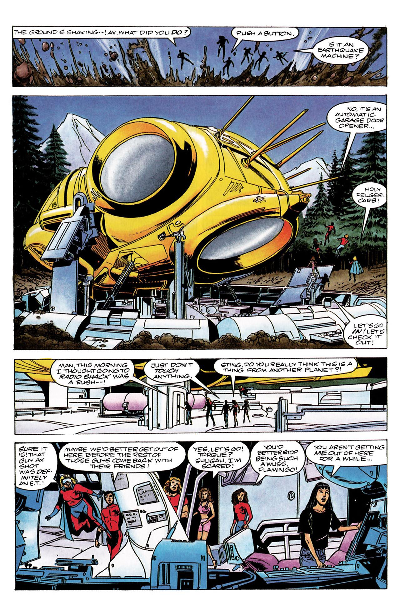 Read online Harbinger (1992) comic -  Issue #3 - 14