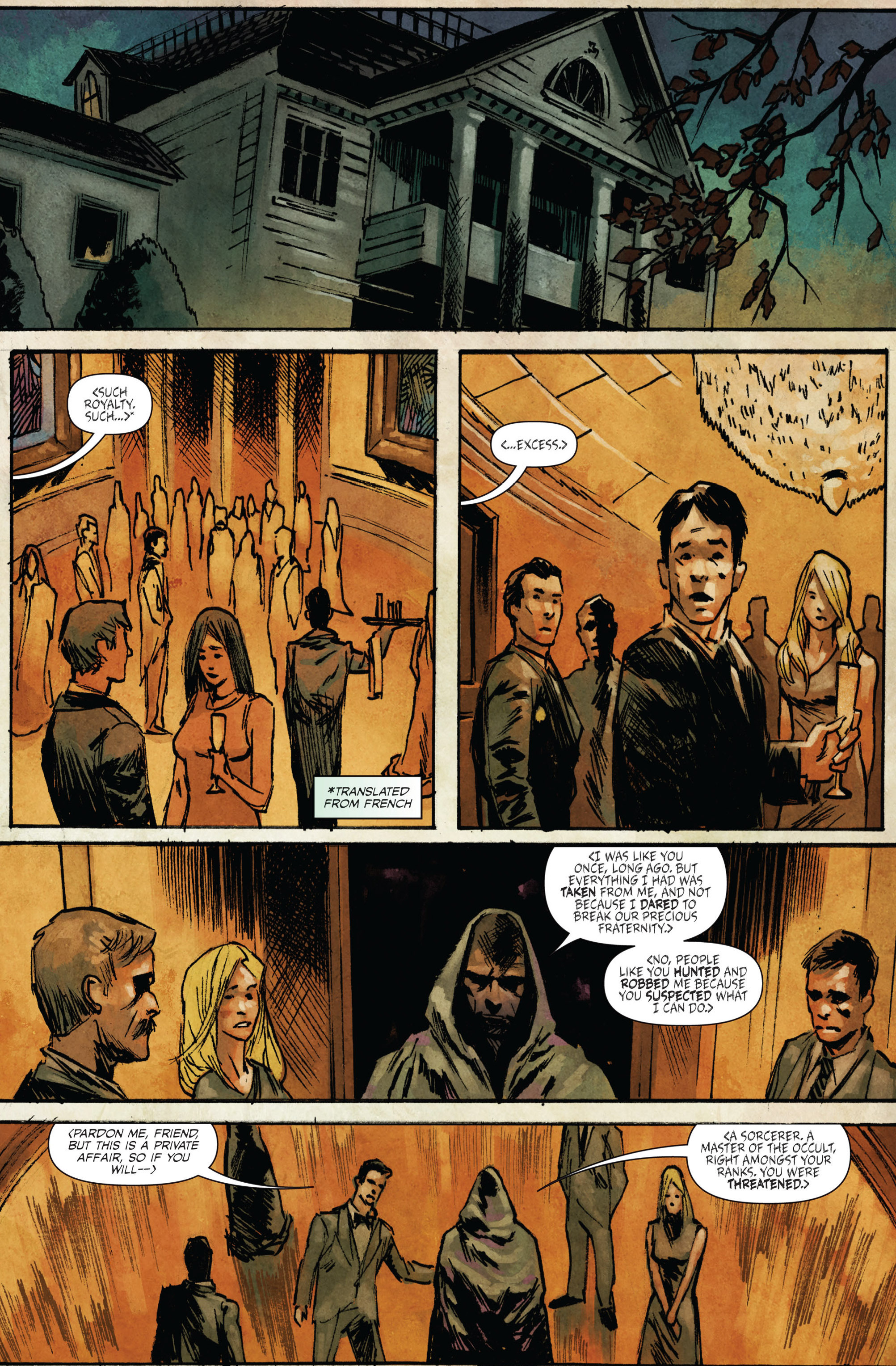 Read online Hoax Hunters (2015) comic -  Issue #3 - 13