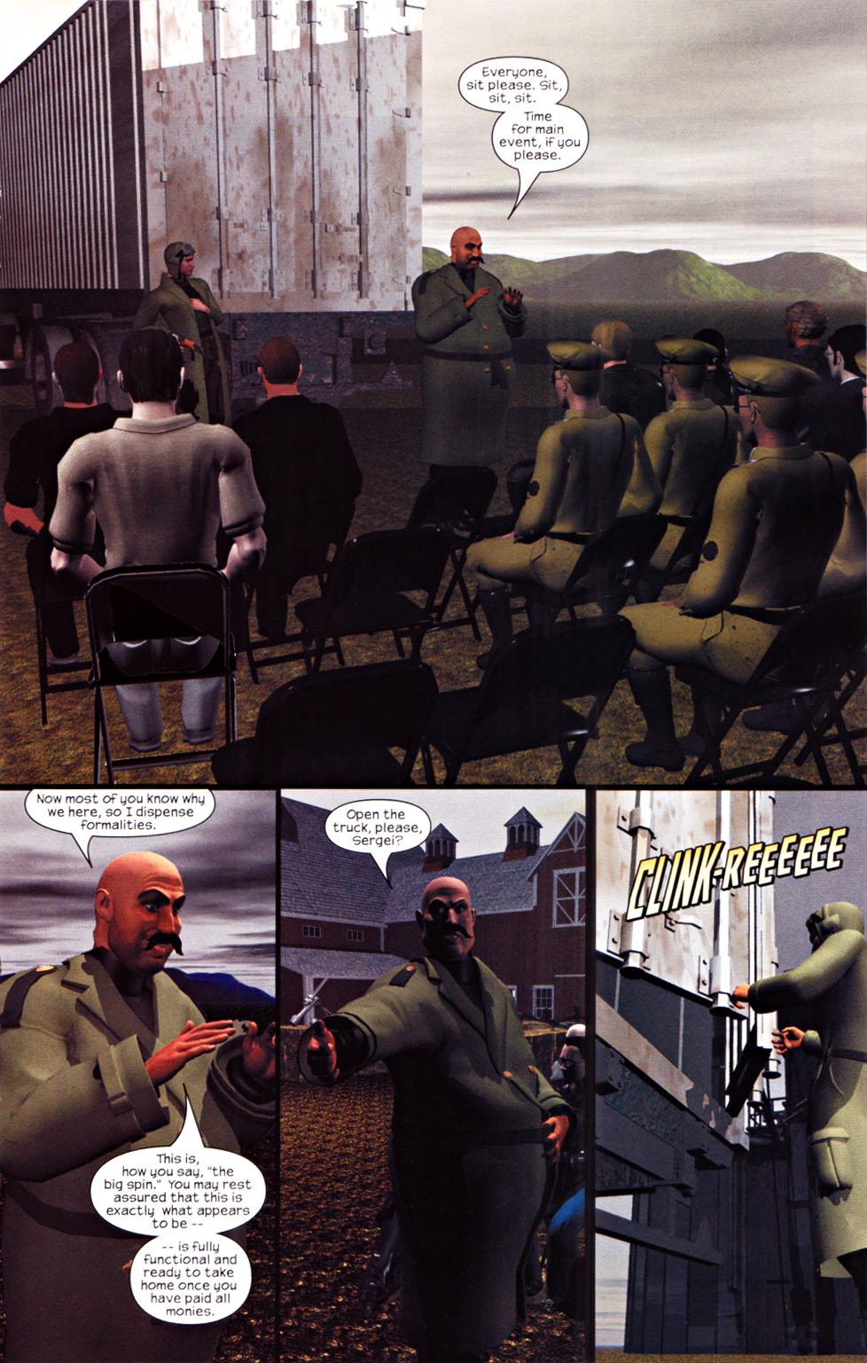 Read online U.S. War Machine 2.0 comic -  Issue #1 - 14