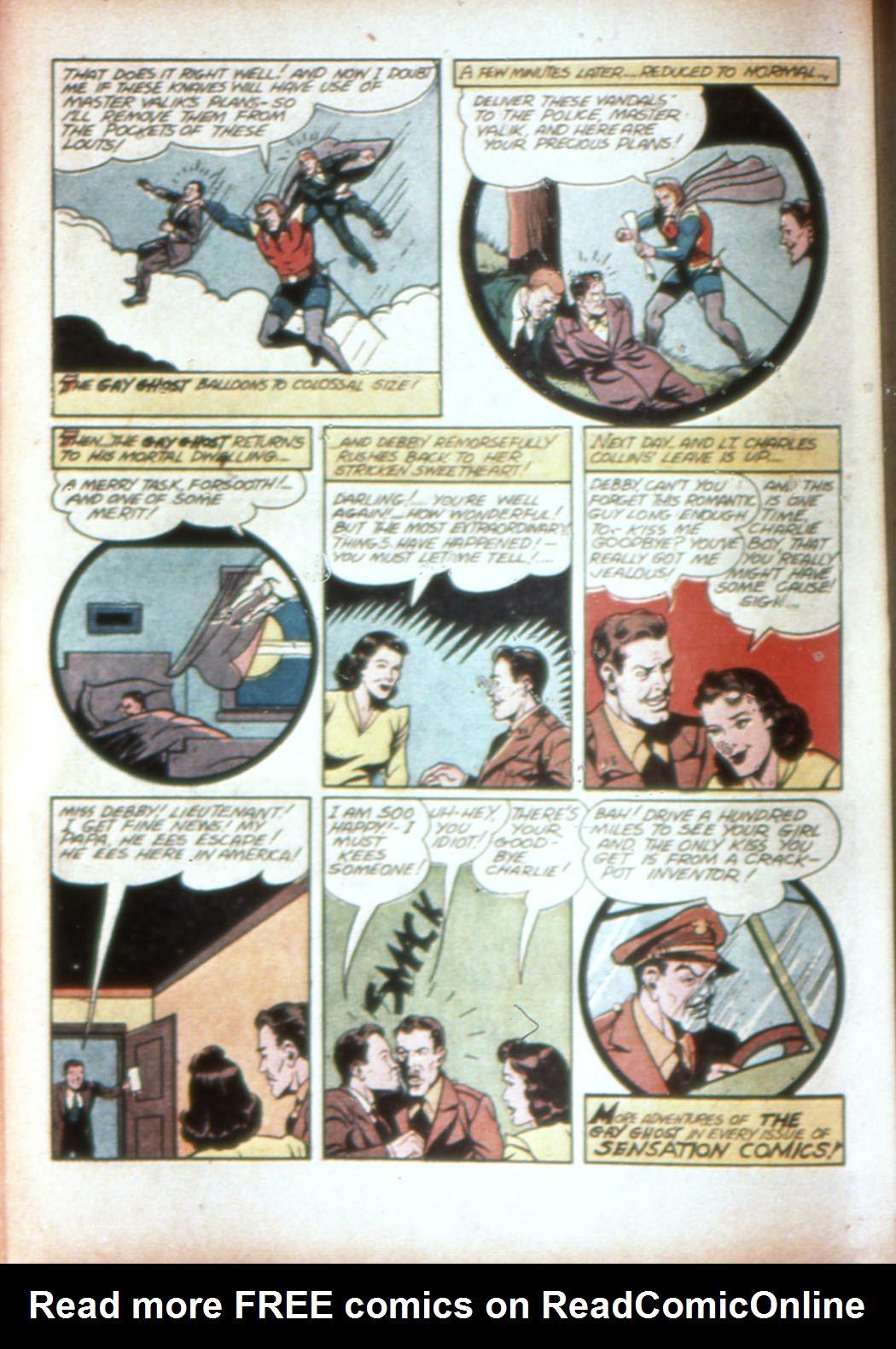 Read online Sensation (Mystery) Comics comic -  Issue #19 - 32
