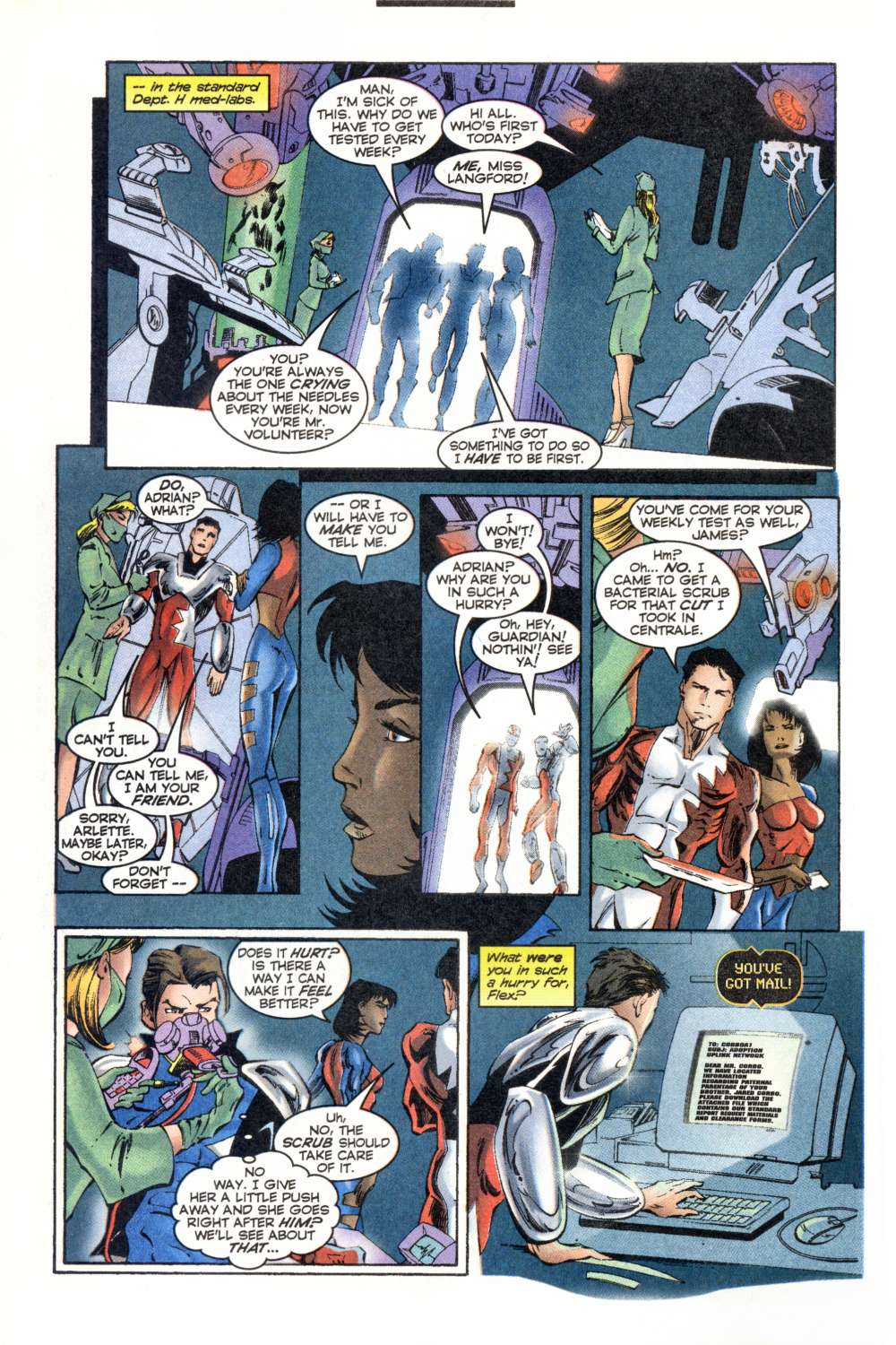 Read online Alpha Flight (1997) comic -  Issue #8 - 12