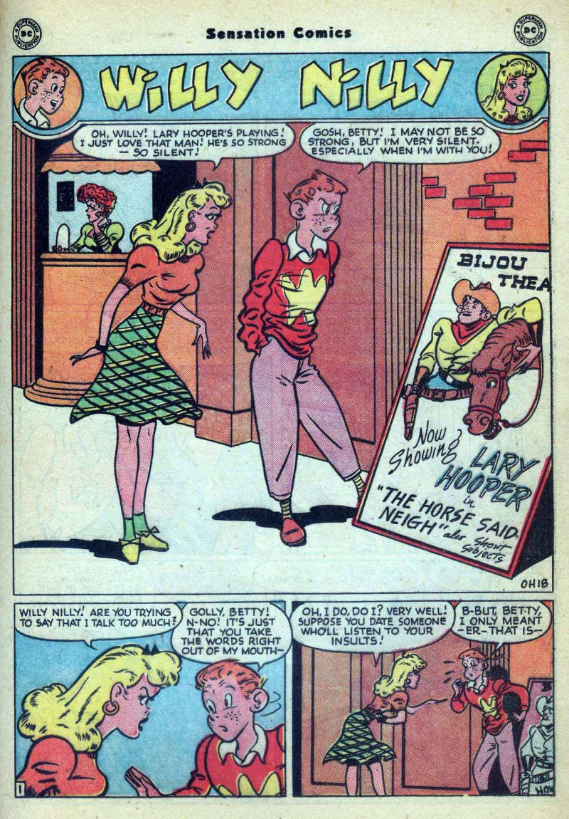 Read online Sensation (Mystery) Comics comic -  Issue #73 - 31