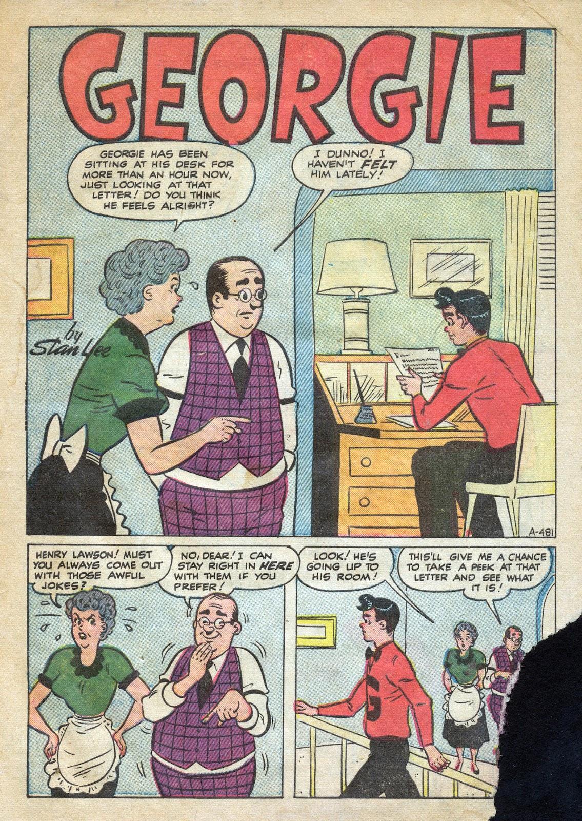 Georgie Comics (1949) issue 39 - Page 3