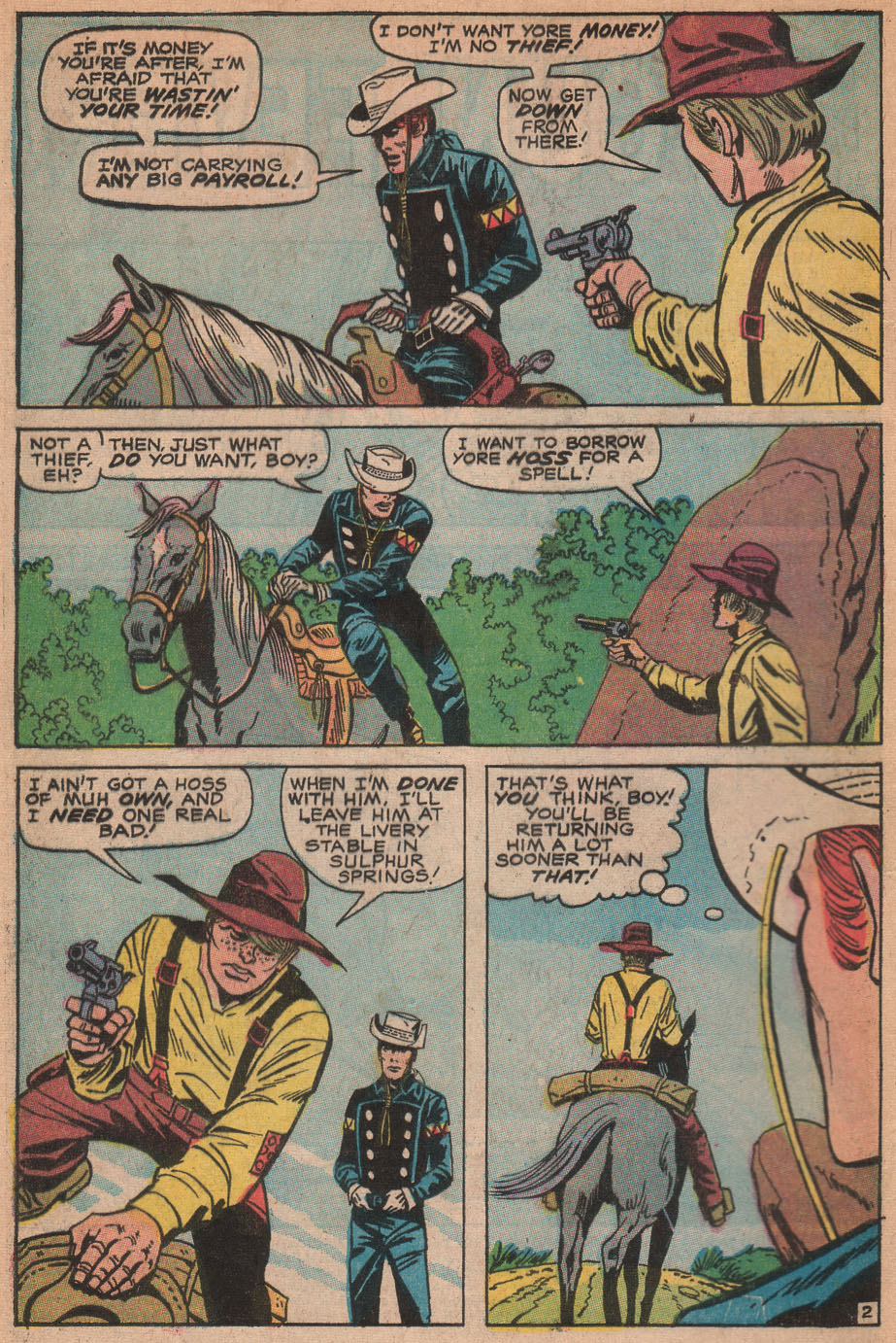 The Rawhide Kid (1955) issue 88 - Page 4