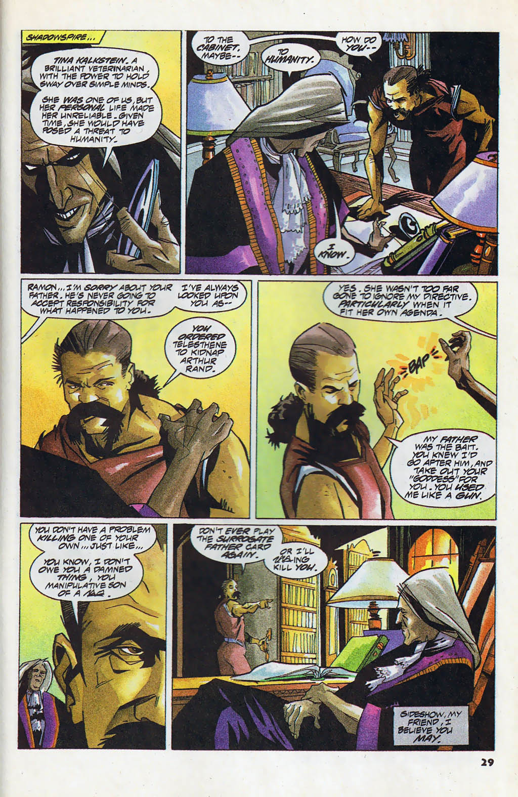 Read online Shadow Cabinet comic -  Issue #4 - 21