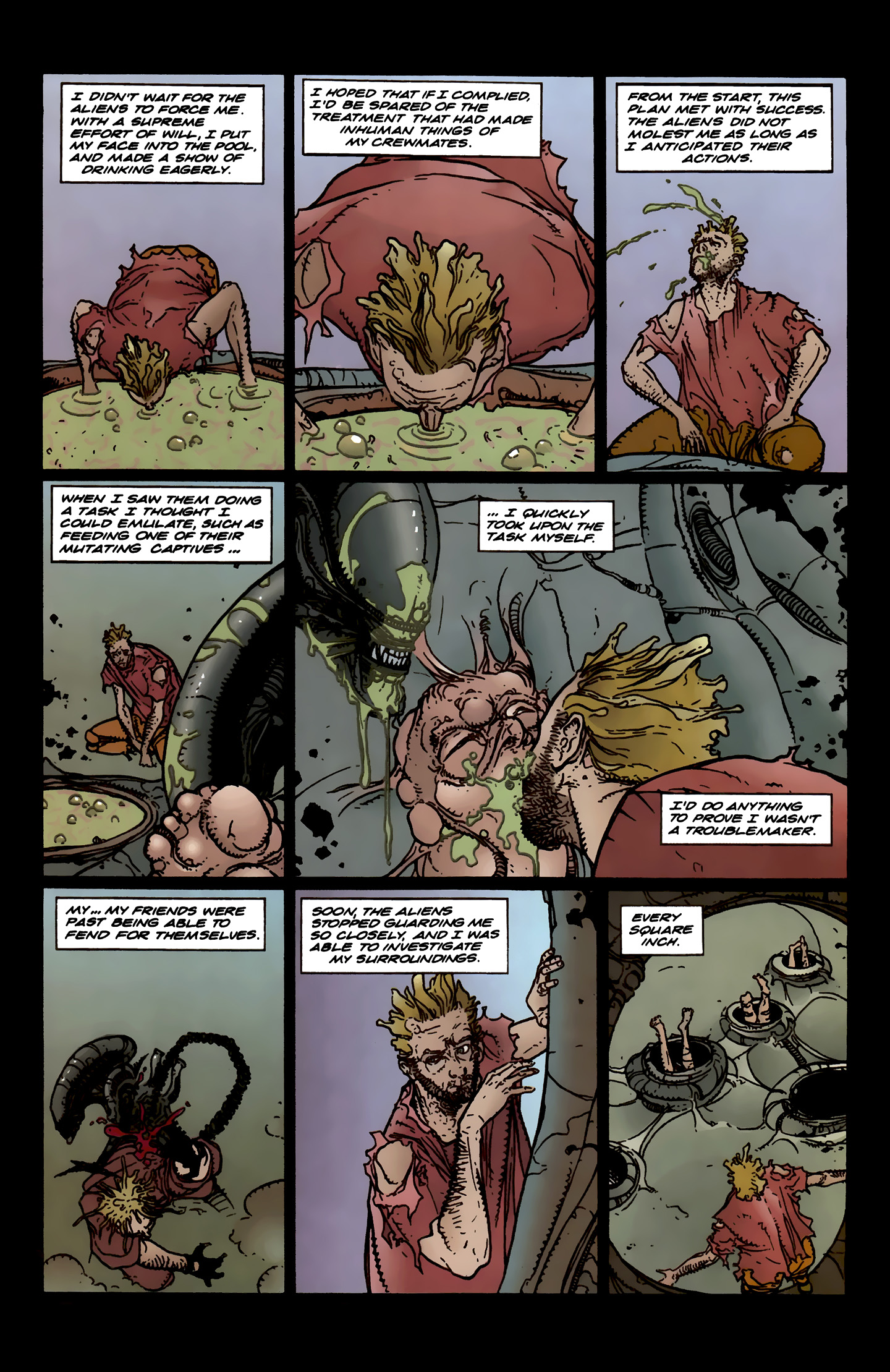 Read online Aliens: Labyrinth comic -  Issue #3 - 20