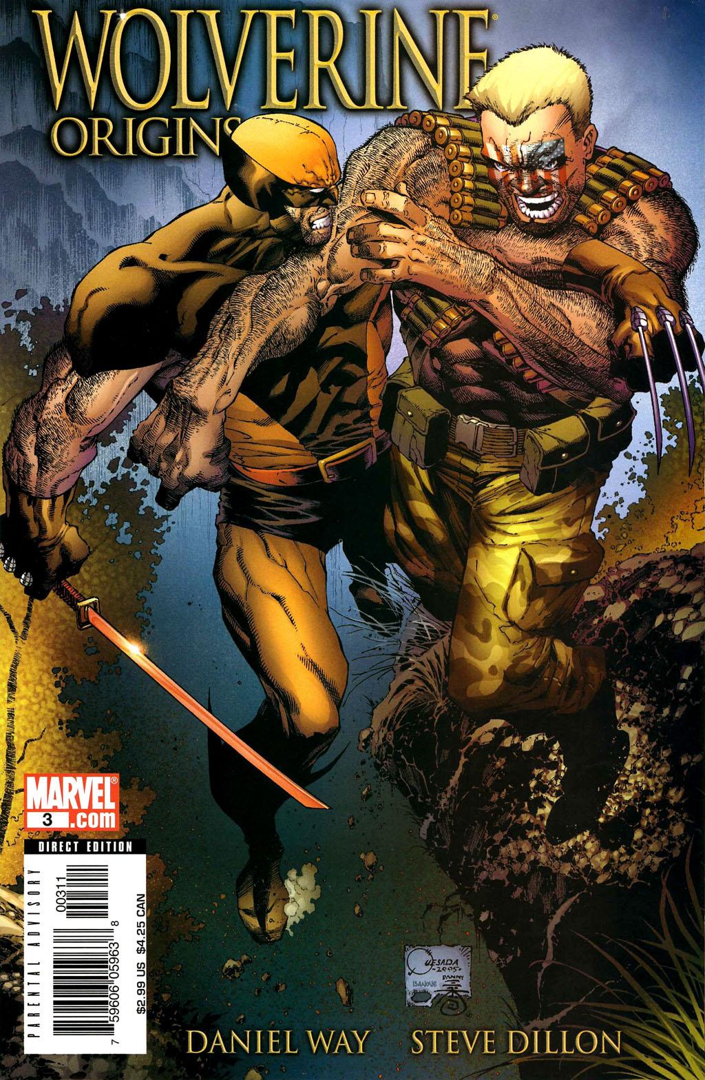 Read online Wolverine: Origins comic -  Issue #3 - 1