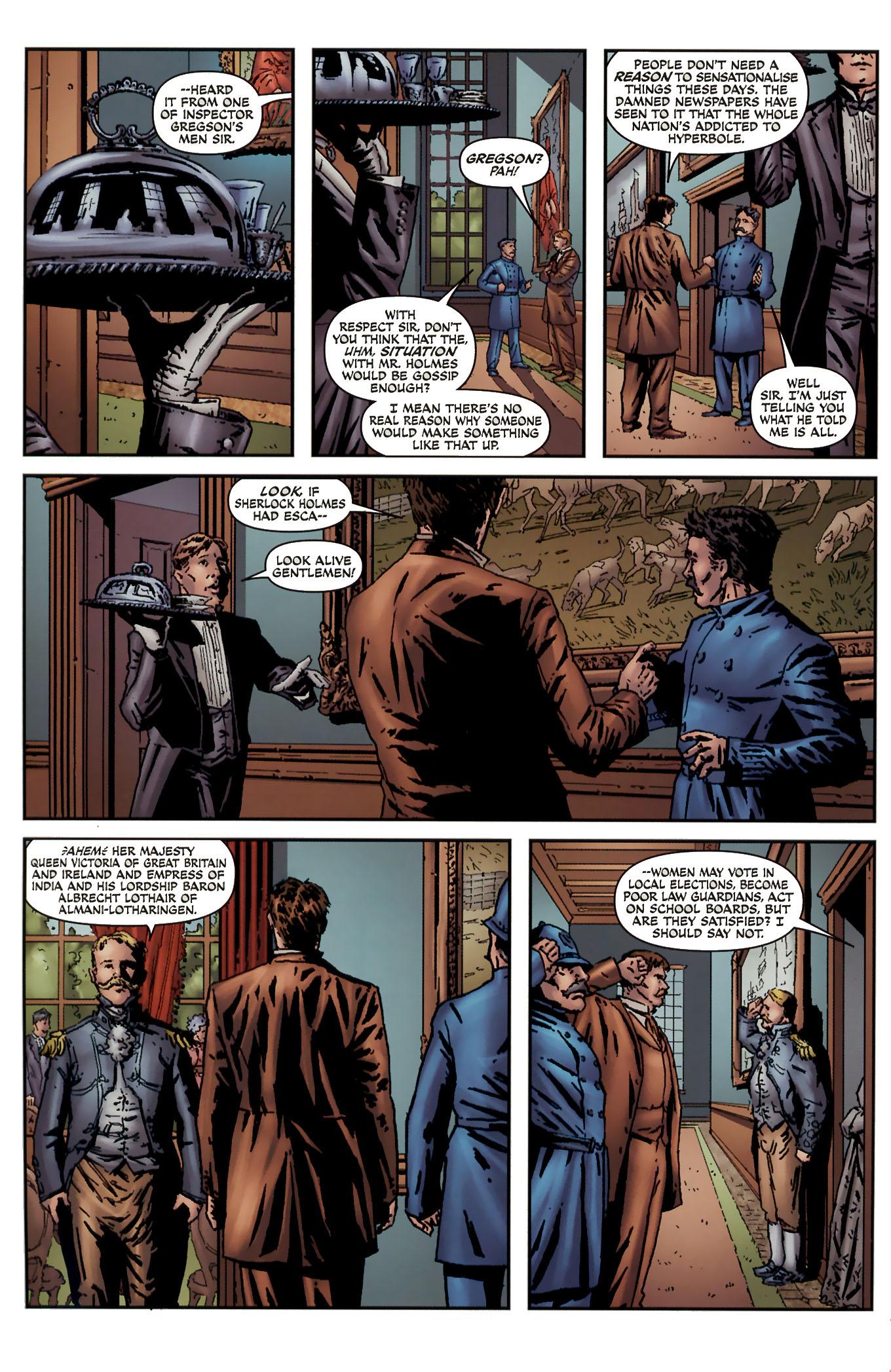 Read online Sherlock Holmes (2009) comic -  Issue #3 - 6