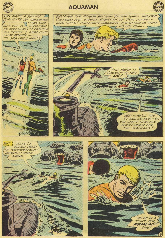 Read online Aquaman (1962) comic -  Issue #12 - 11
