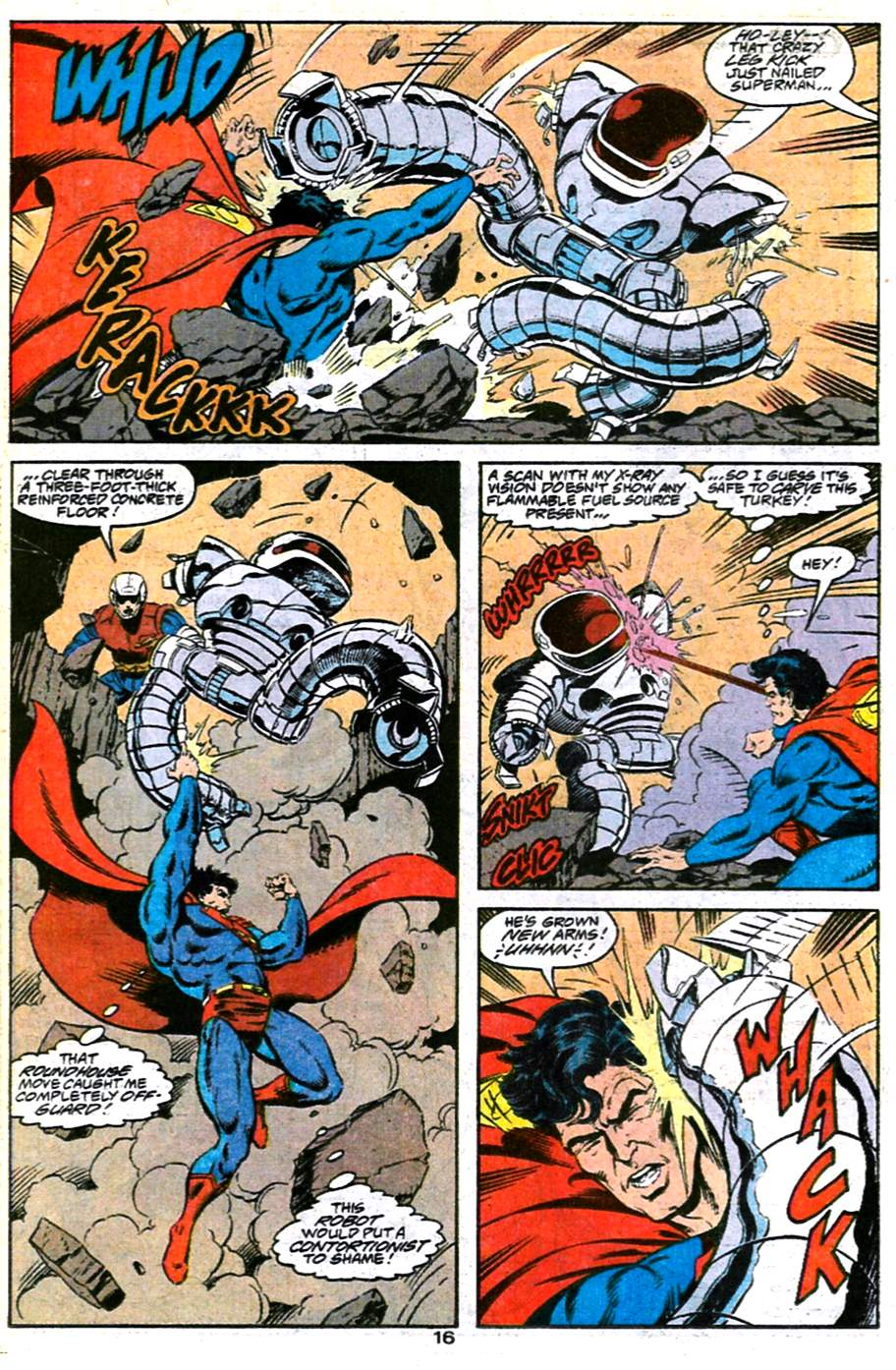 Read online Adventures of Superman (1987) comic -  Issue #486 - 17