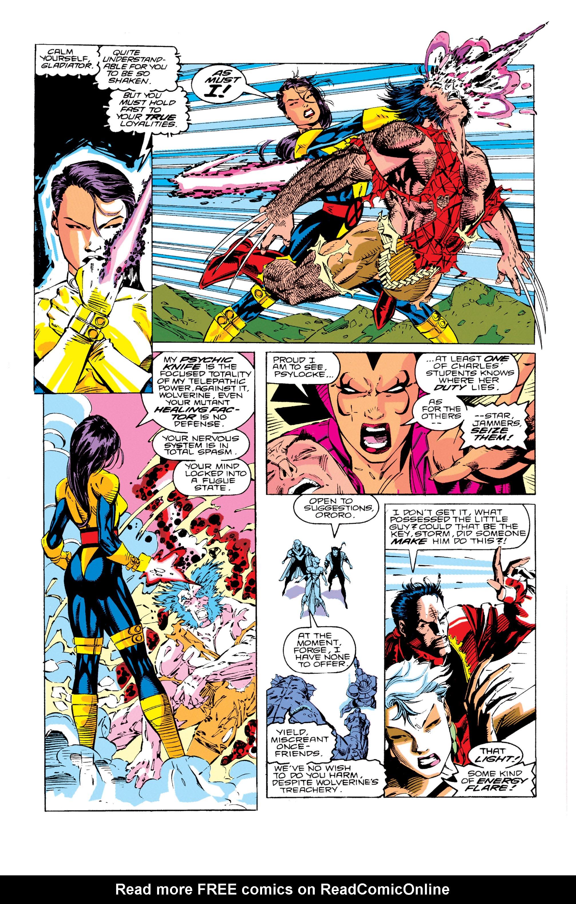 Read online Uncanny X-Men (1963) comic -  Issue #276 - 12