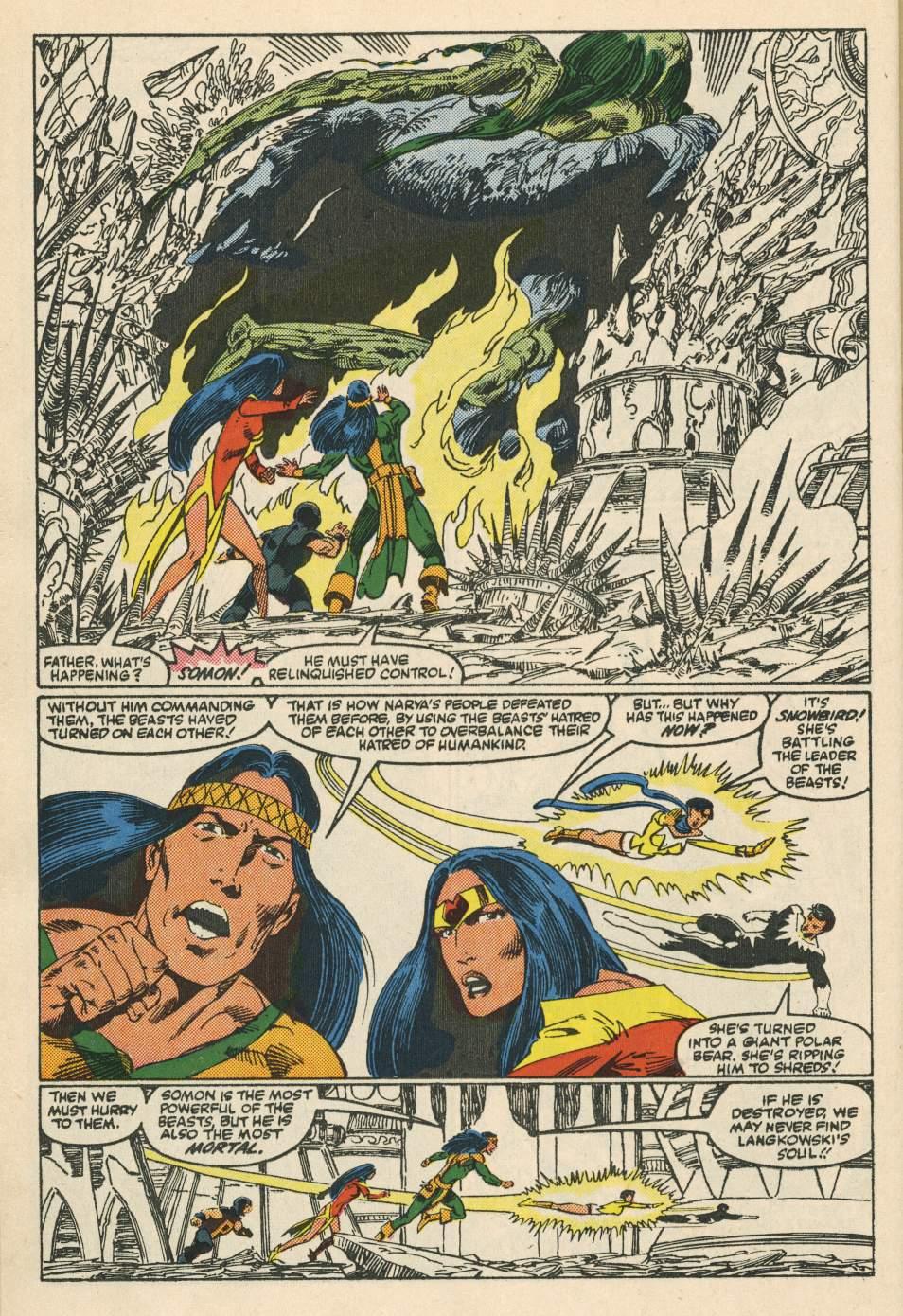 Read online Alpha Flight (1983) comic -  Issue #24 - 24