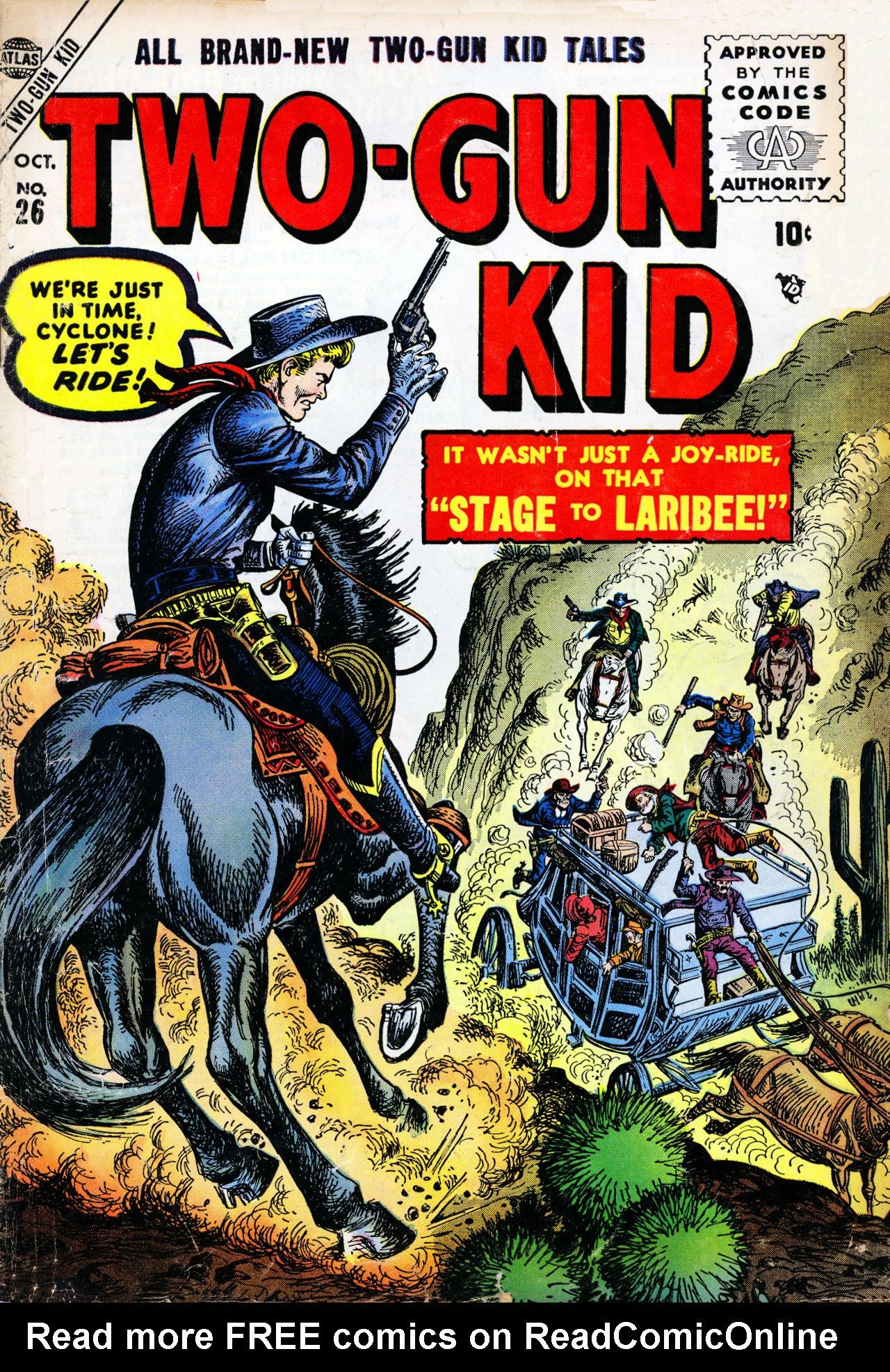 Read online Two-Gun Kid comic -  Issue #26 - 1