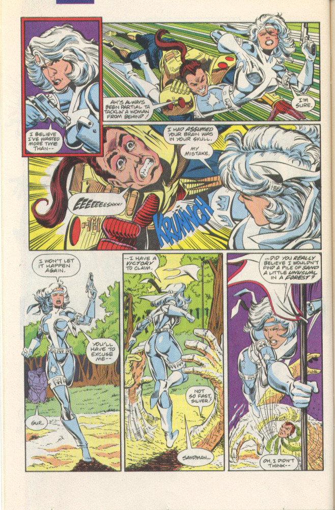 Read online Silver Sable and the Wild Pack comic -  Issue #1 - 6