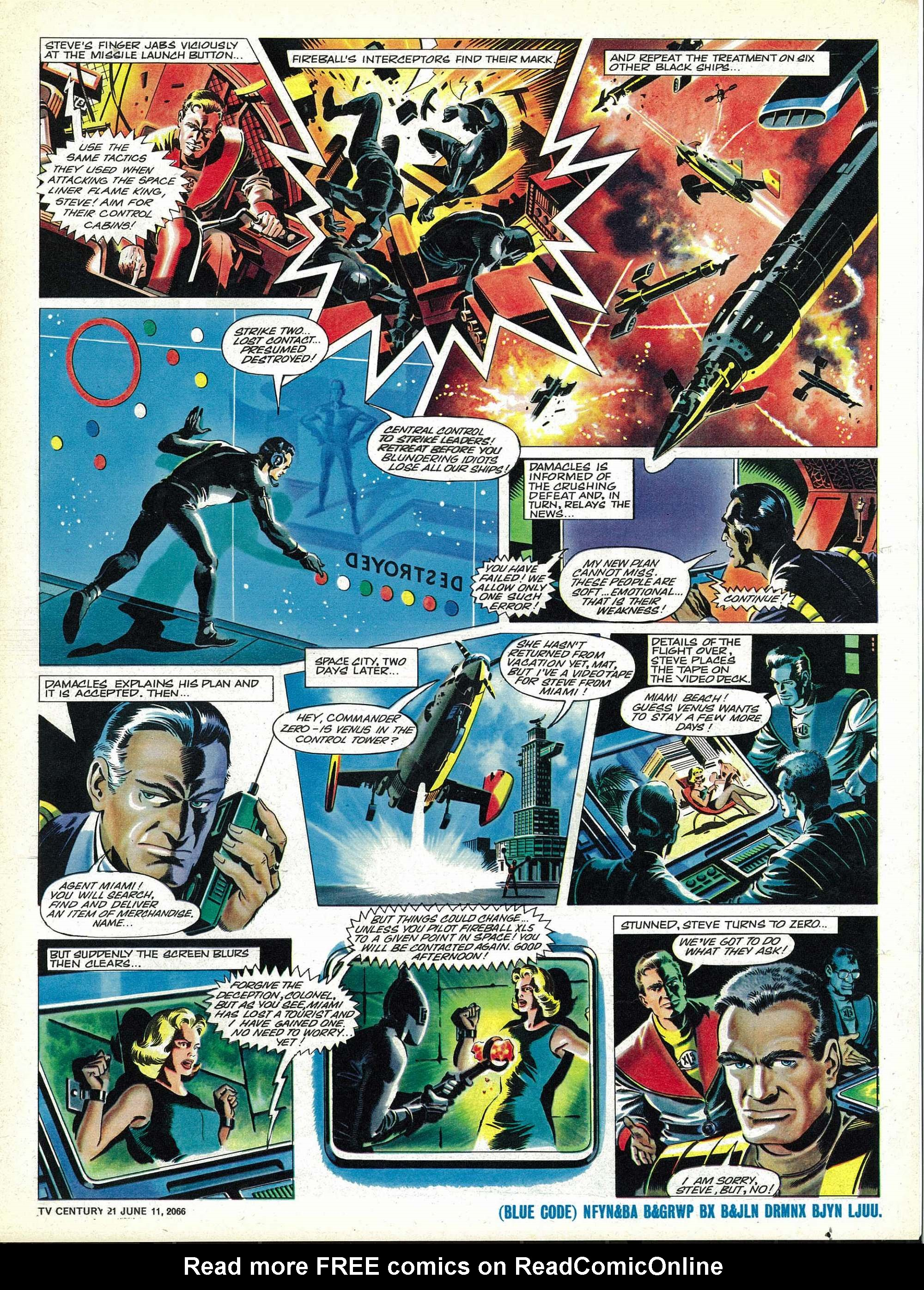 Read online TV Century 21 (TV 21) comic -  Issue #73 - 16