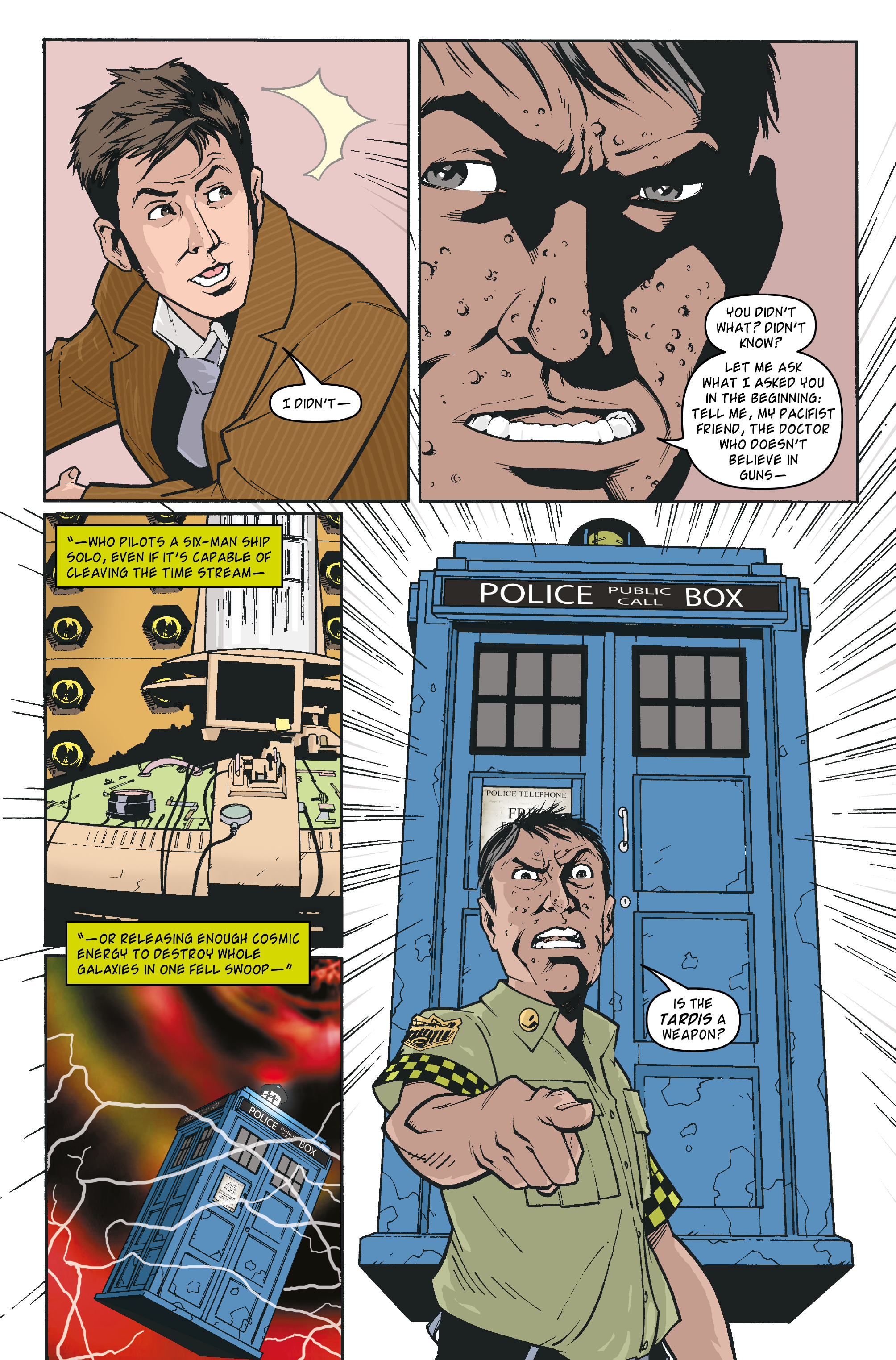 Read online Doctor Who: The Tenth Doctor Archives comic -  Issue #35 - 21