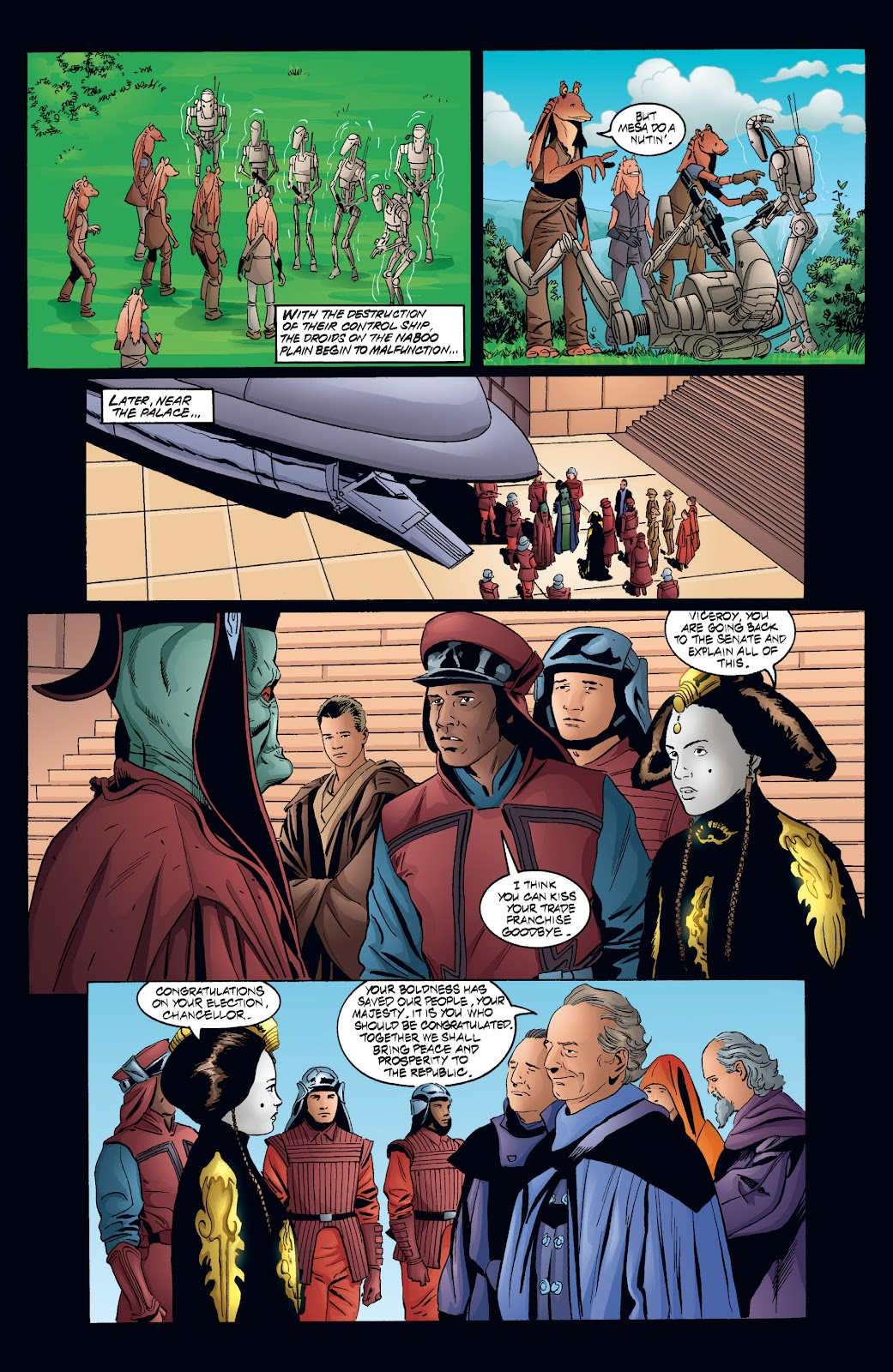 Read online Star Wars Legends: Rise of the Sith - Epic Collection comic -  Issue # TPB 2 (Part 4) - 36