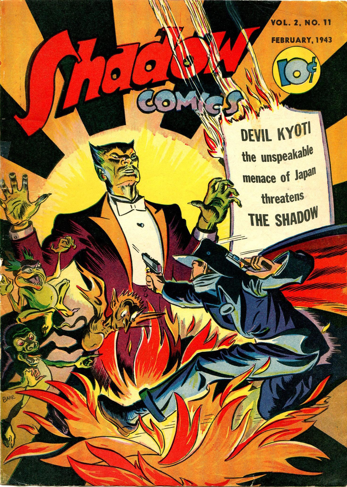 Read online Shadow Comics comic -  Issue #23 - 1