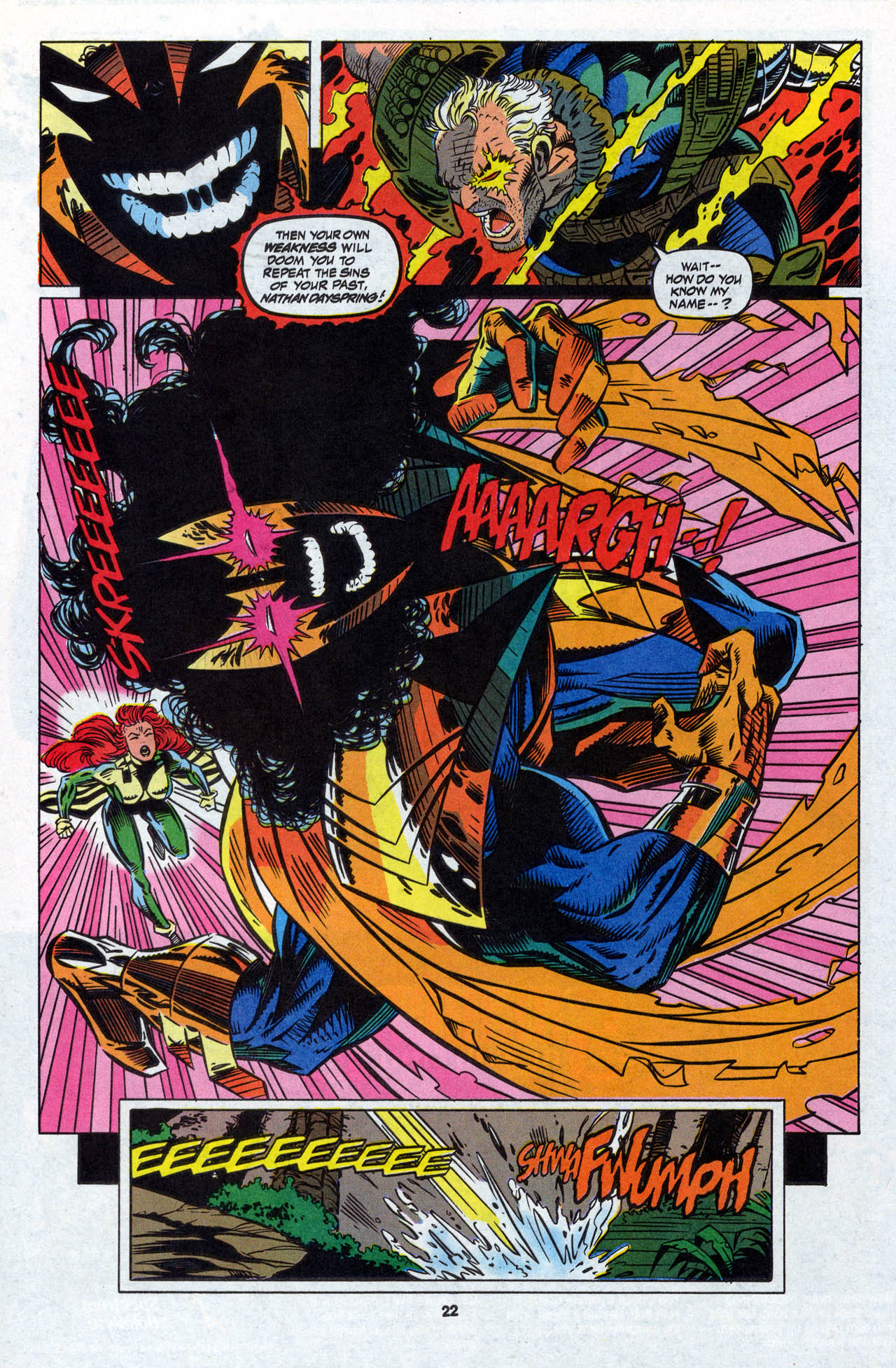 Read online X-Force (1991) comic -  Issue #28 - 23