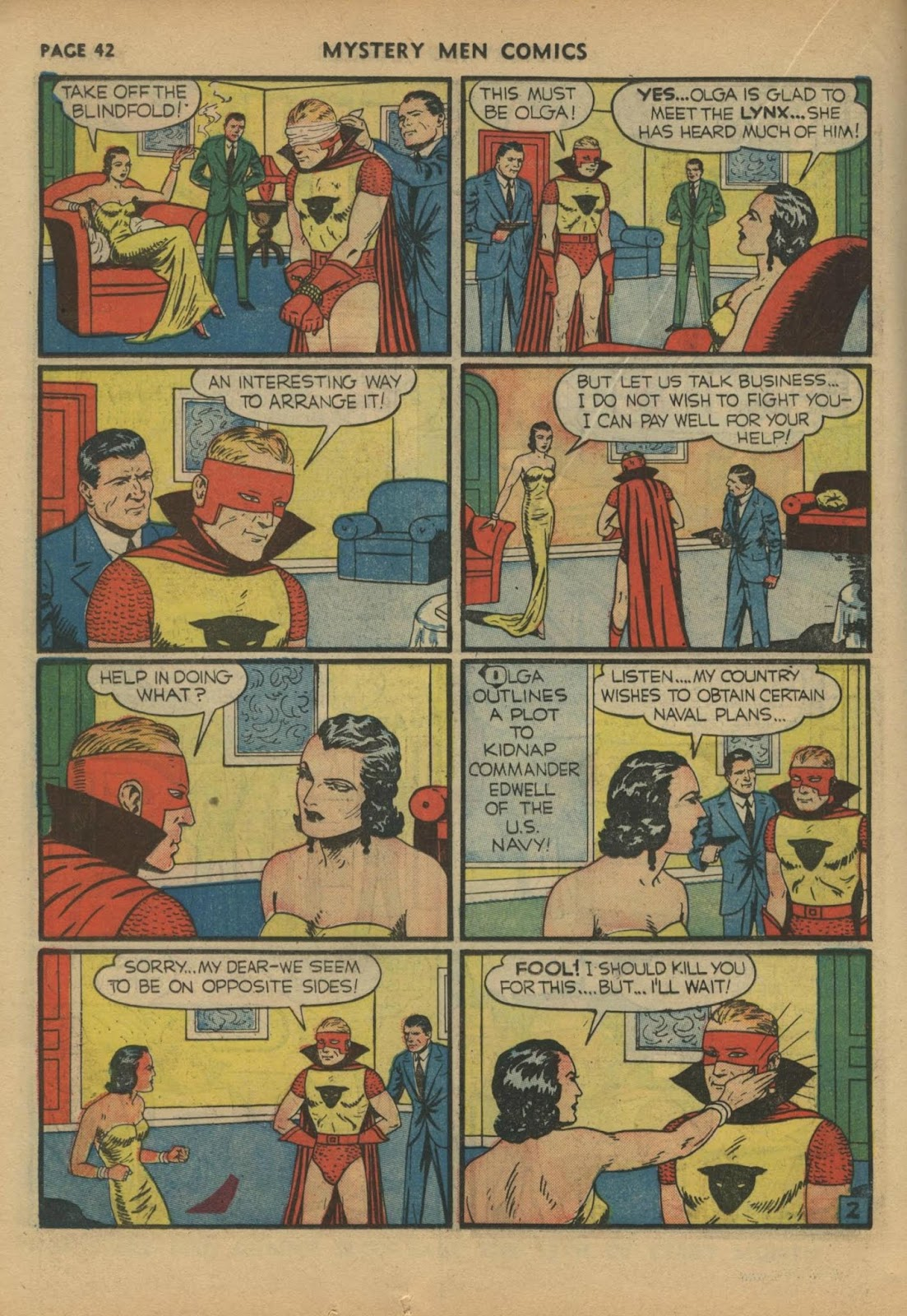 Mystery Men Comics issue 17 - Page 44