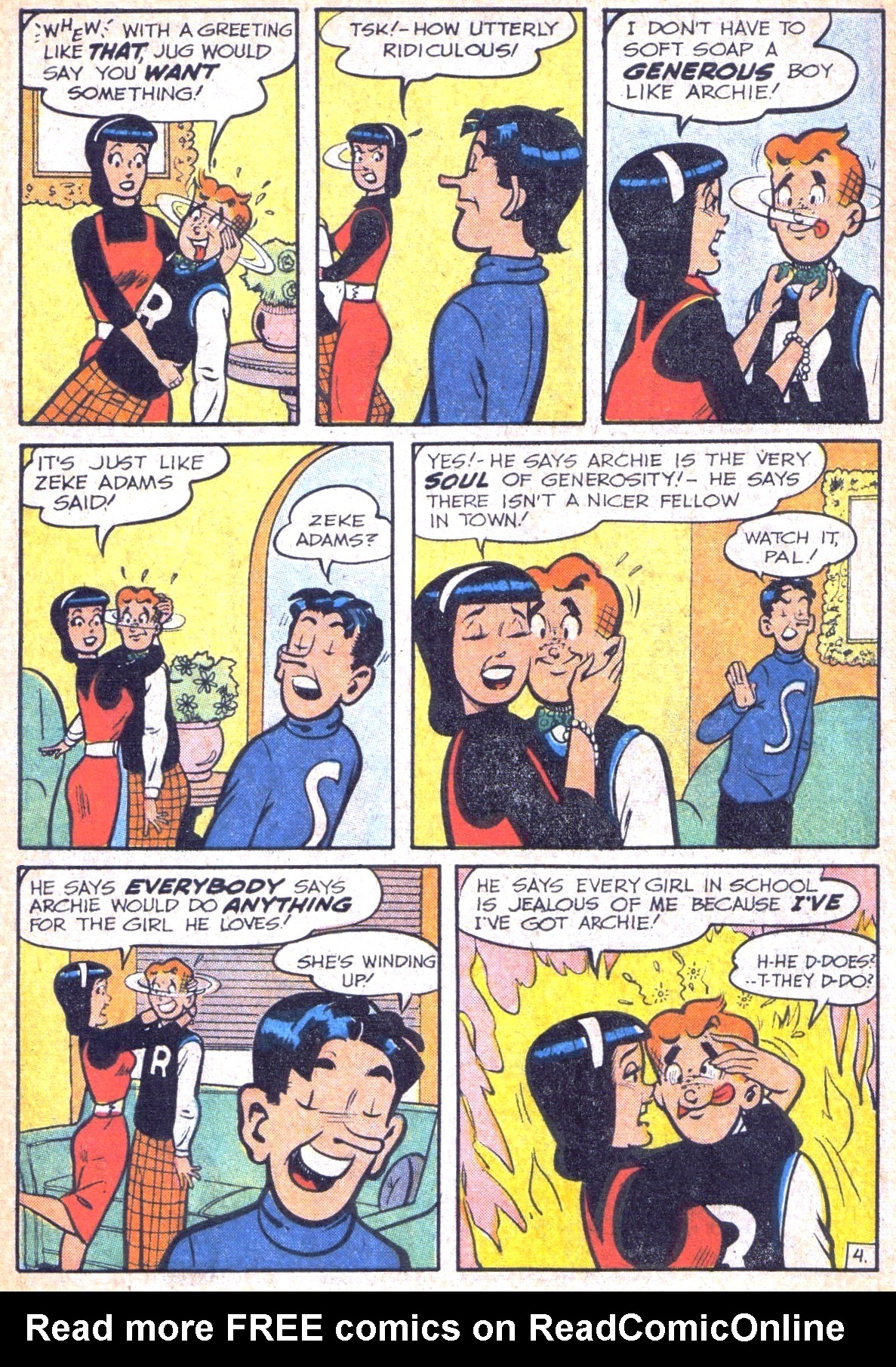Read online Archie (1960) comic -  Issue #118 - 6