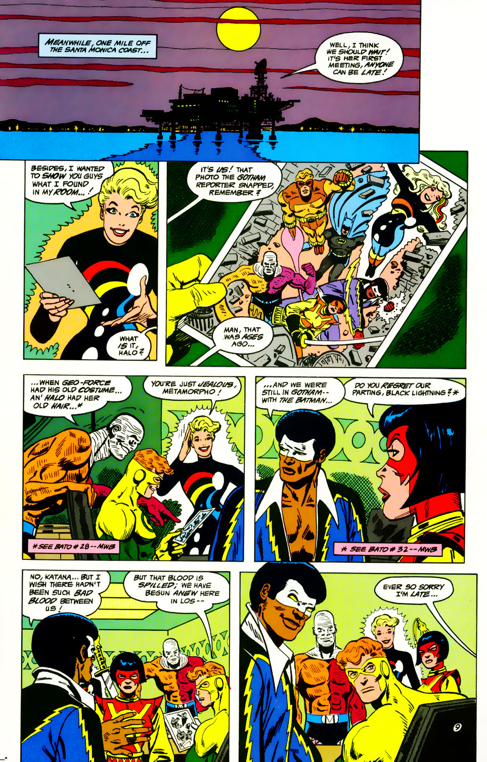Read online Adventures of the Outsiders comic -  Issue #39 - 10