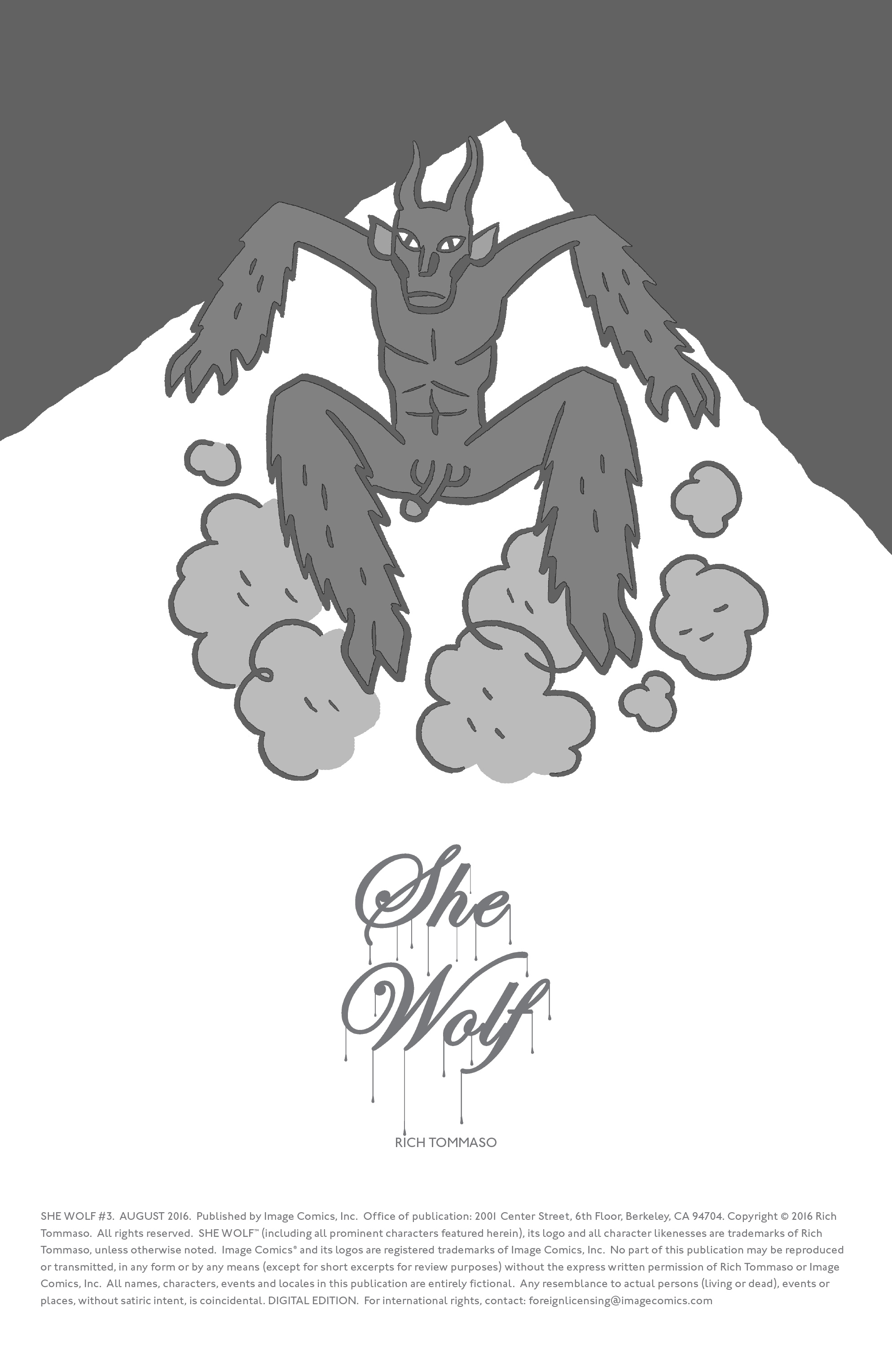 Read online She Wolf comic -  Issue #3 - 2