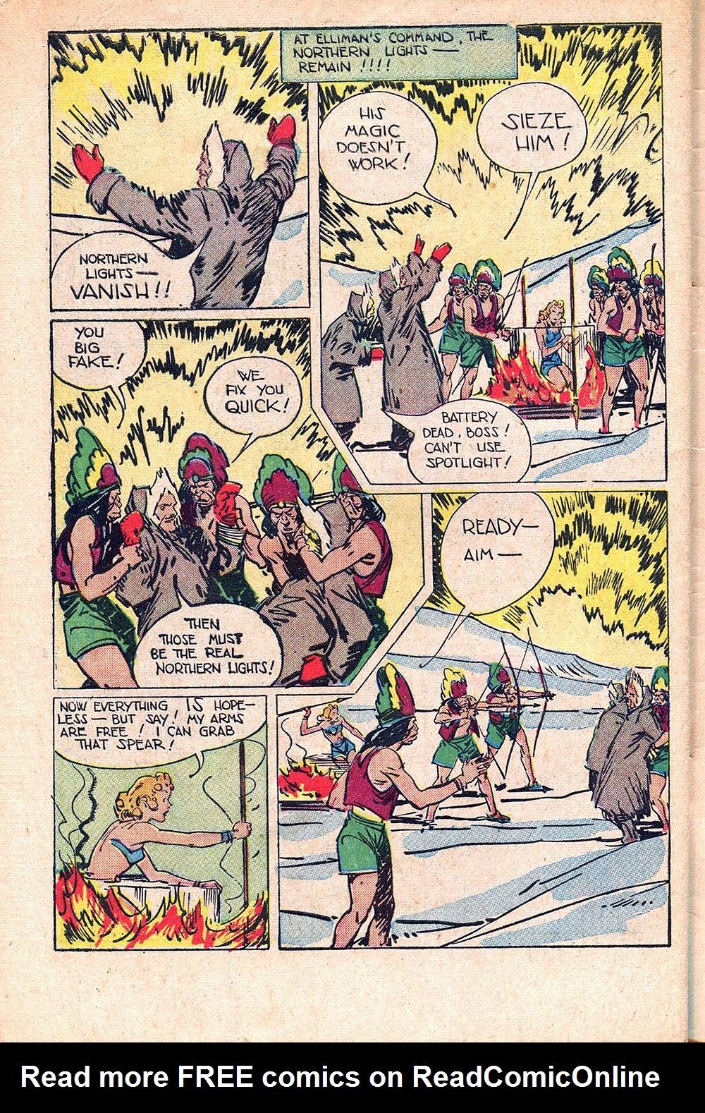 Read online Super-Magician Comics comic -  Issue #55 - 48