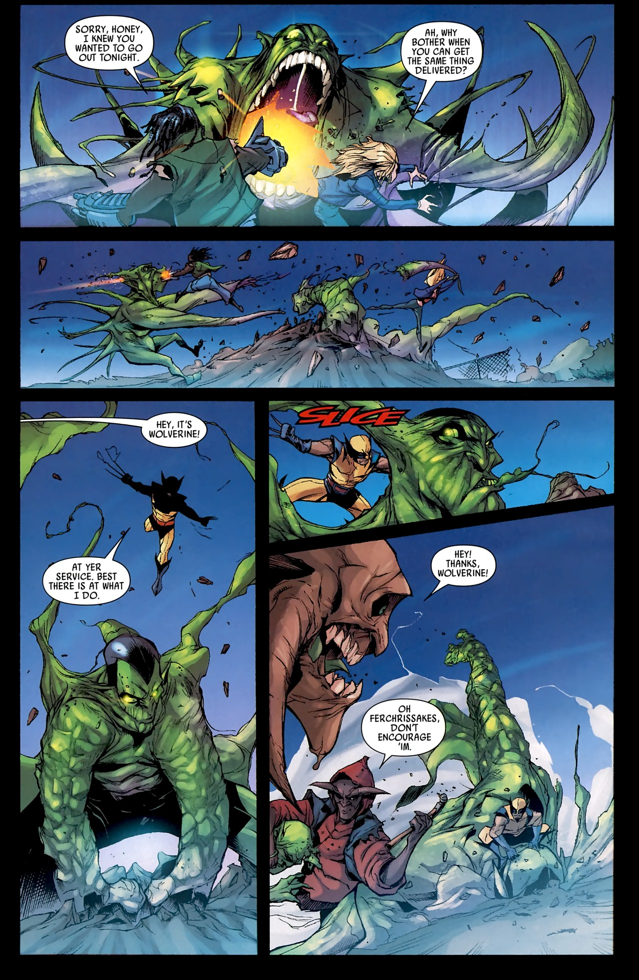 Read online Skrull Kill Krew (2009) comic -  Issue #4 - 23