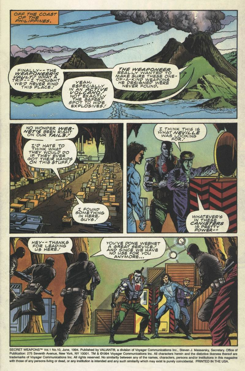 Read online Secret Weapons comic -  Issue #10 - 2