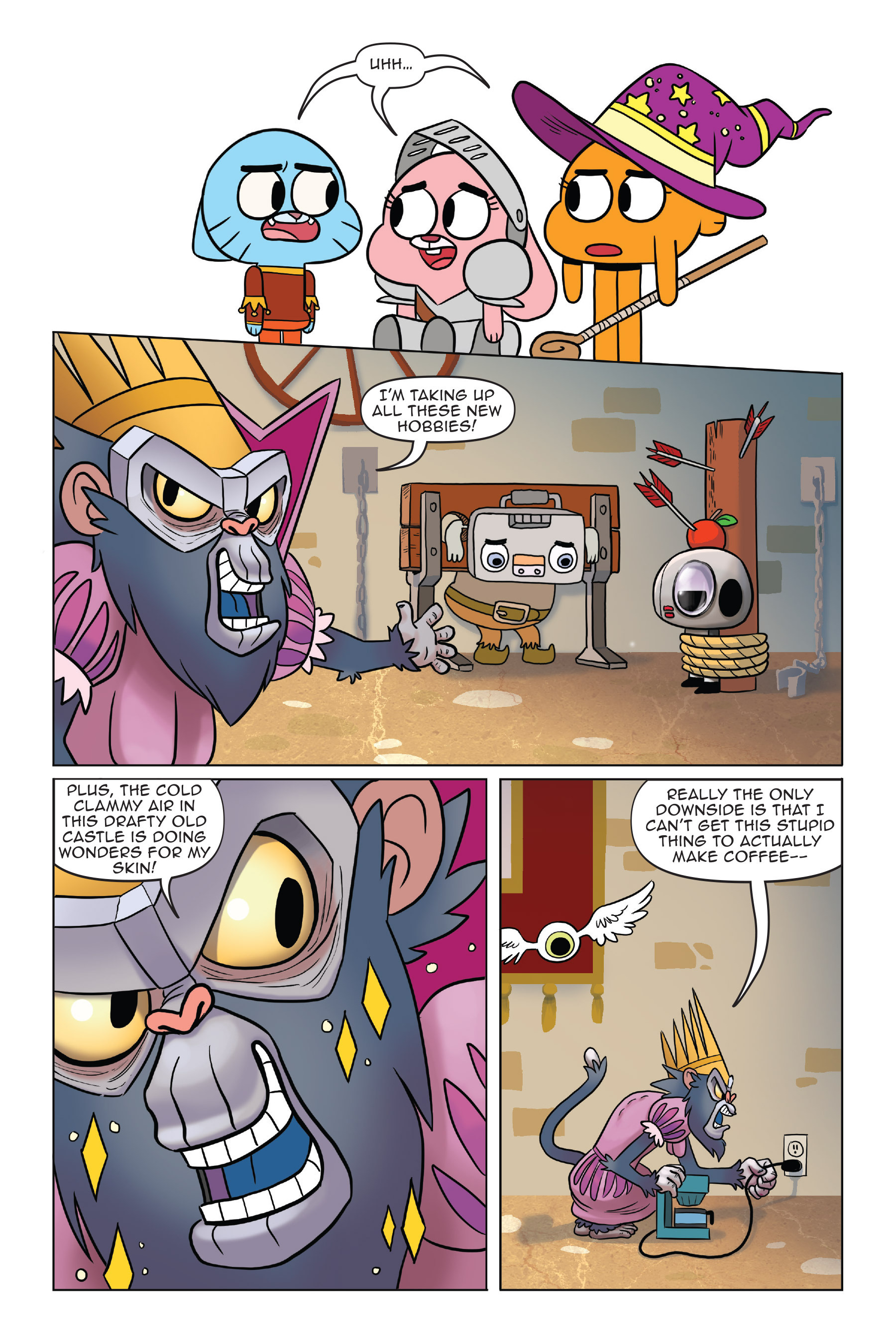 Read online The Amazing World of Gumball: Fairy Tale Trouble comic -  Issue # Full - 112