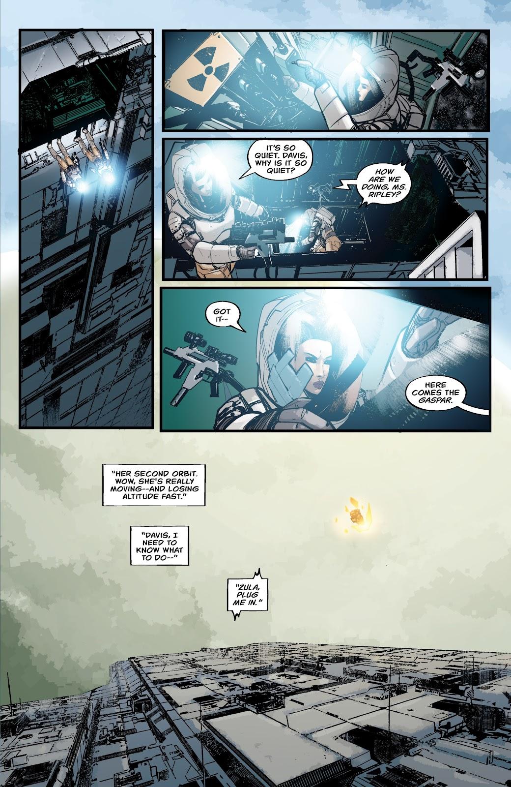 Read online Aliens: Resistance comic -  Issue #2 - 17