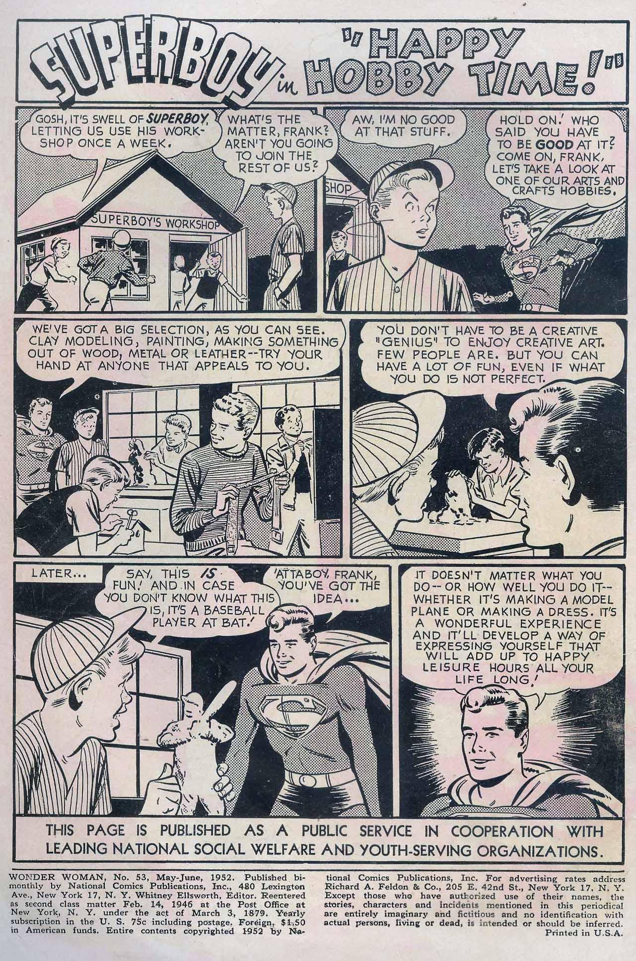Read online Wonder Woman (1942) comic -  Issue #53 - 2