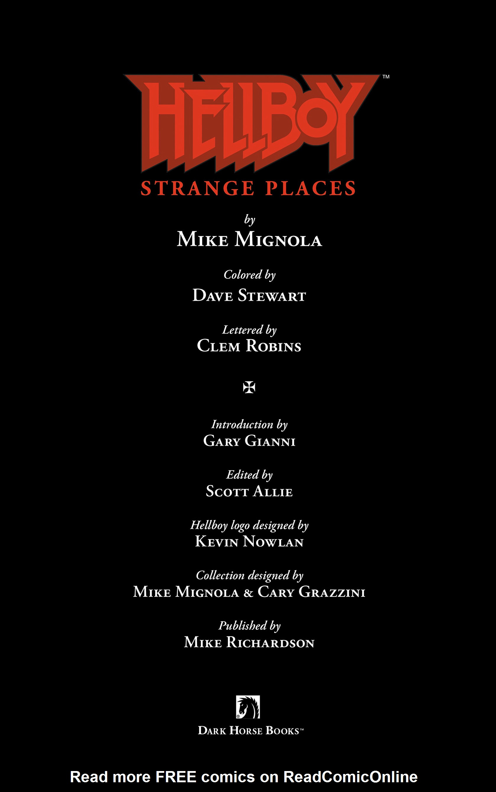 Read online Hellboy: Strange Places comic -  Issue # TPB - 4