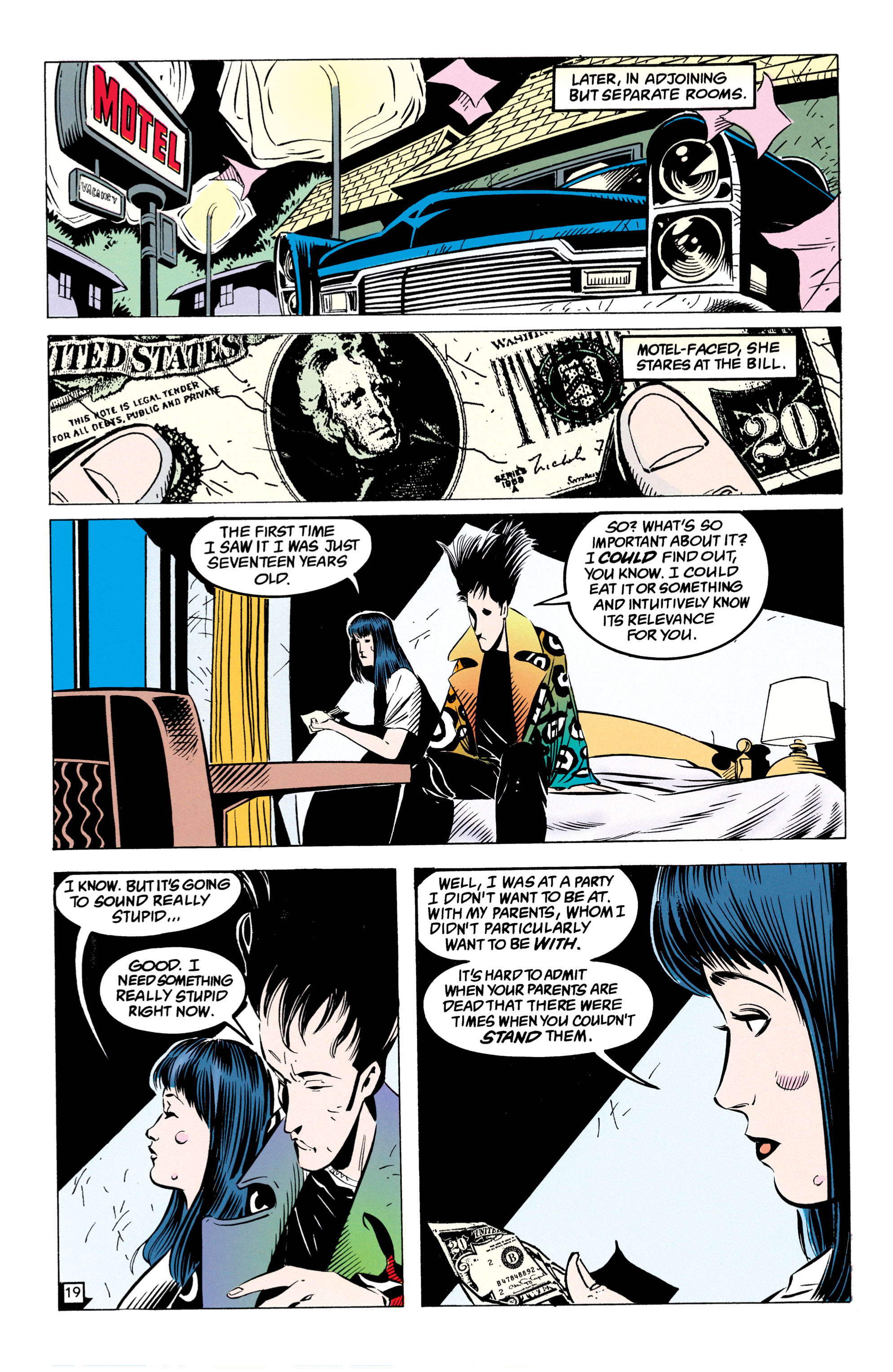 Read online Shade, the Changing Man comic -  Issue #49 - 20